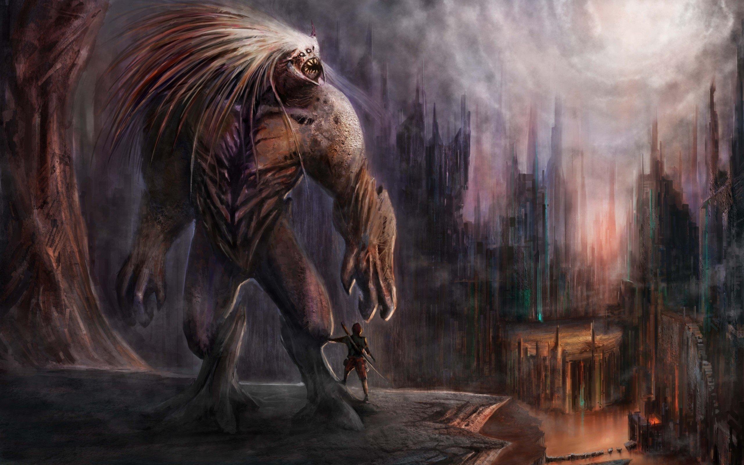 Giant Monster Wallpaper High Resolution