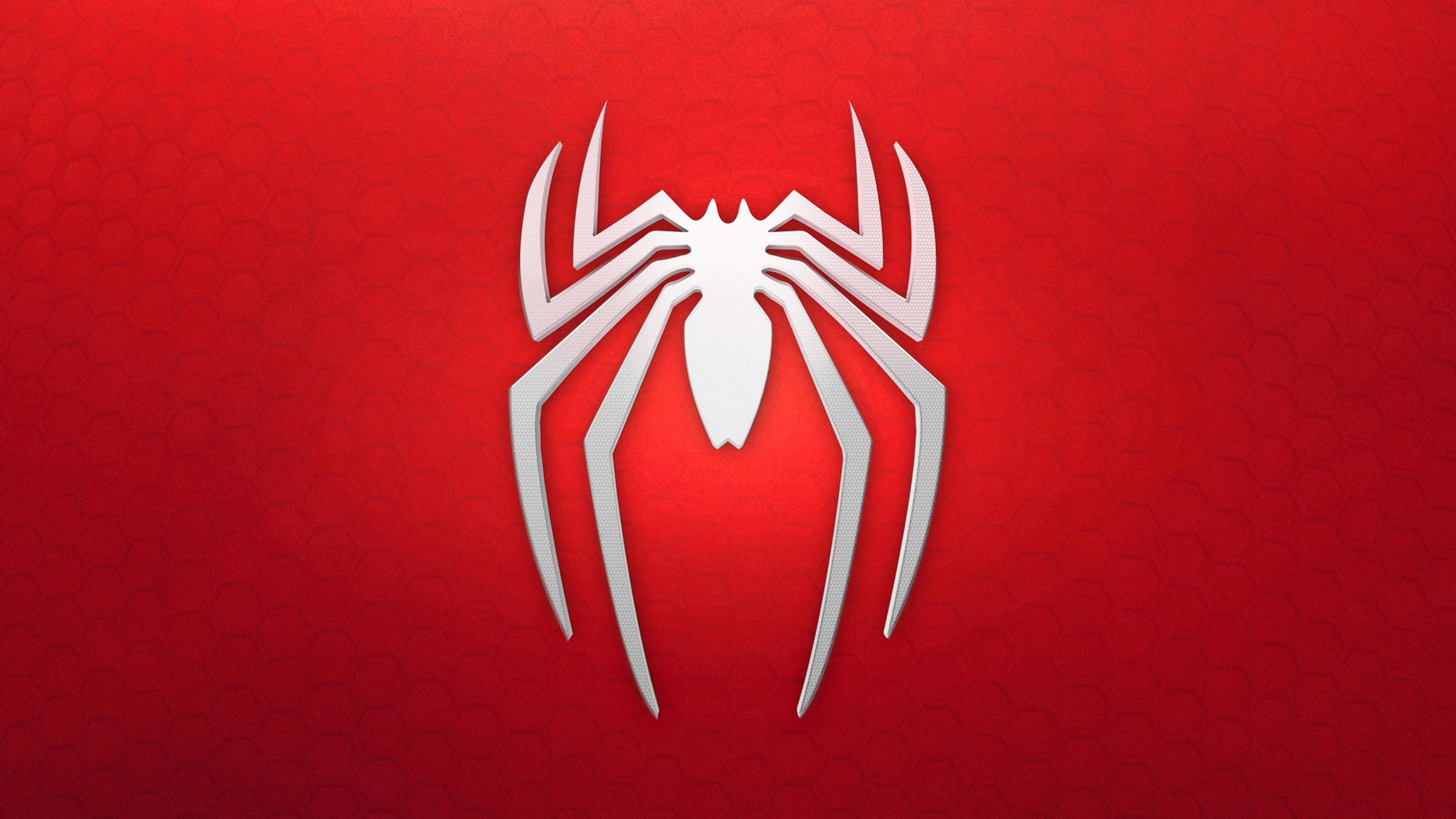 Spider-Man: Homecoming 4K Logo wallpaper