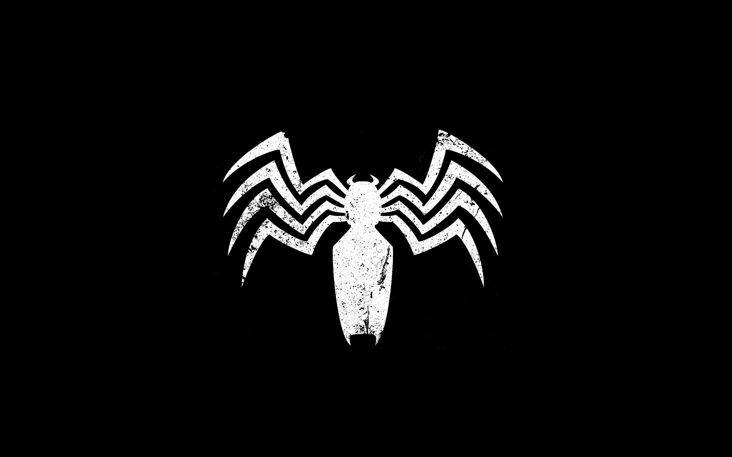 Black Spiderman Logo HD Wallpapers