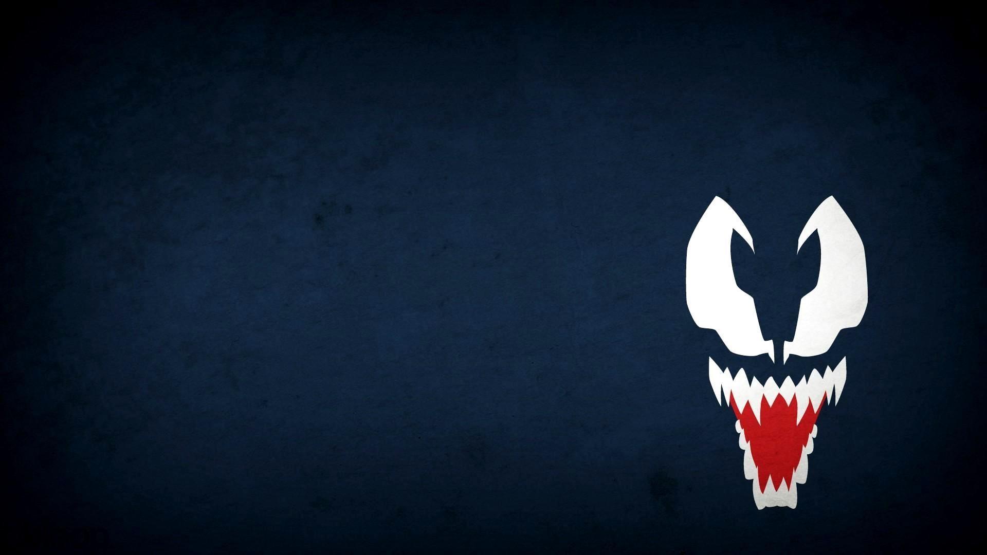 Animals For > Spiderman Venom Logo Wallpaper