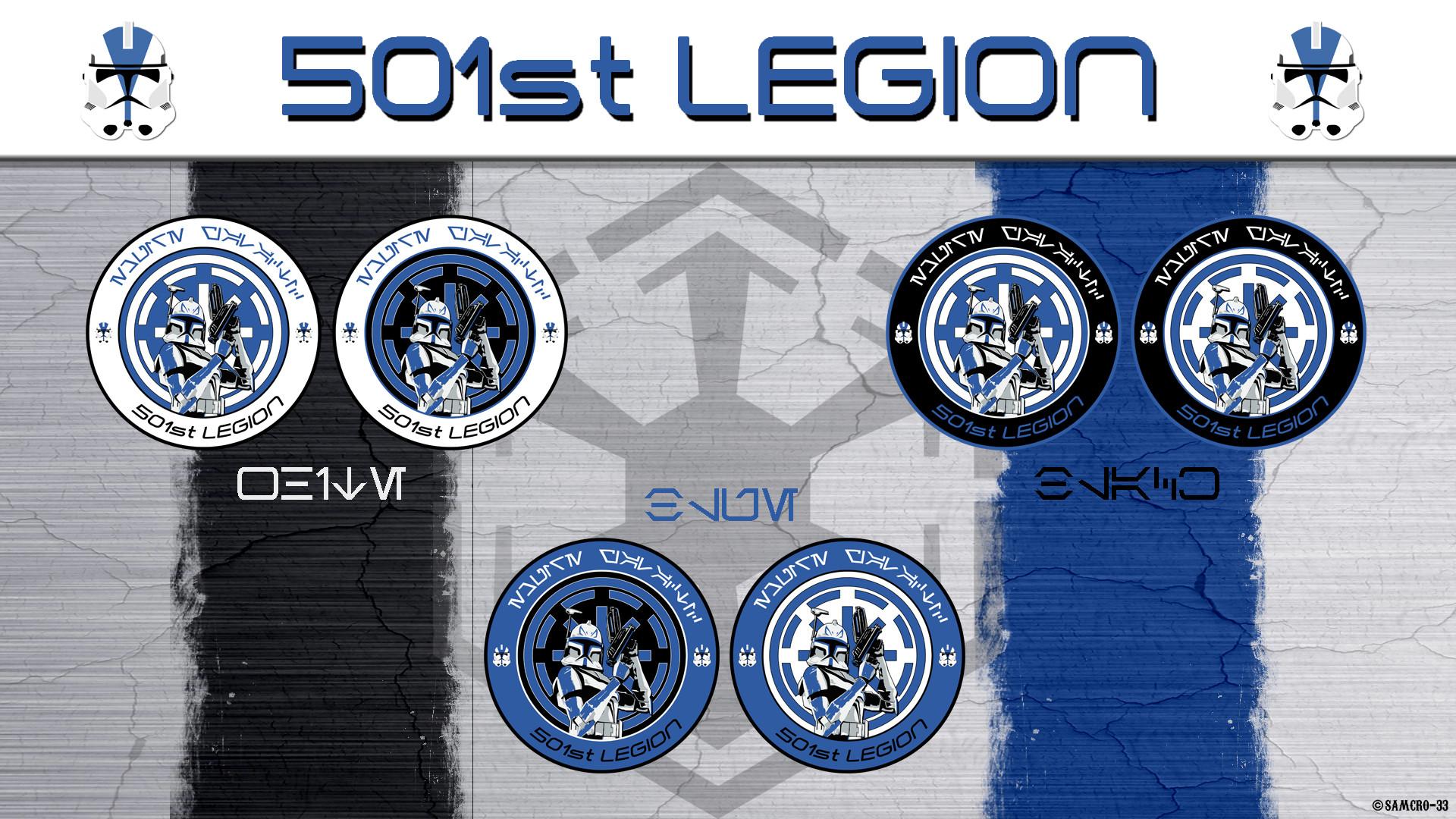 … 501st Legion Logo by Samcro-33