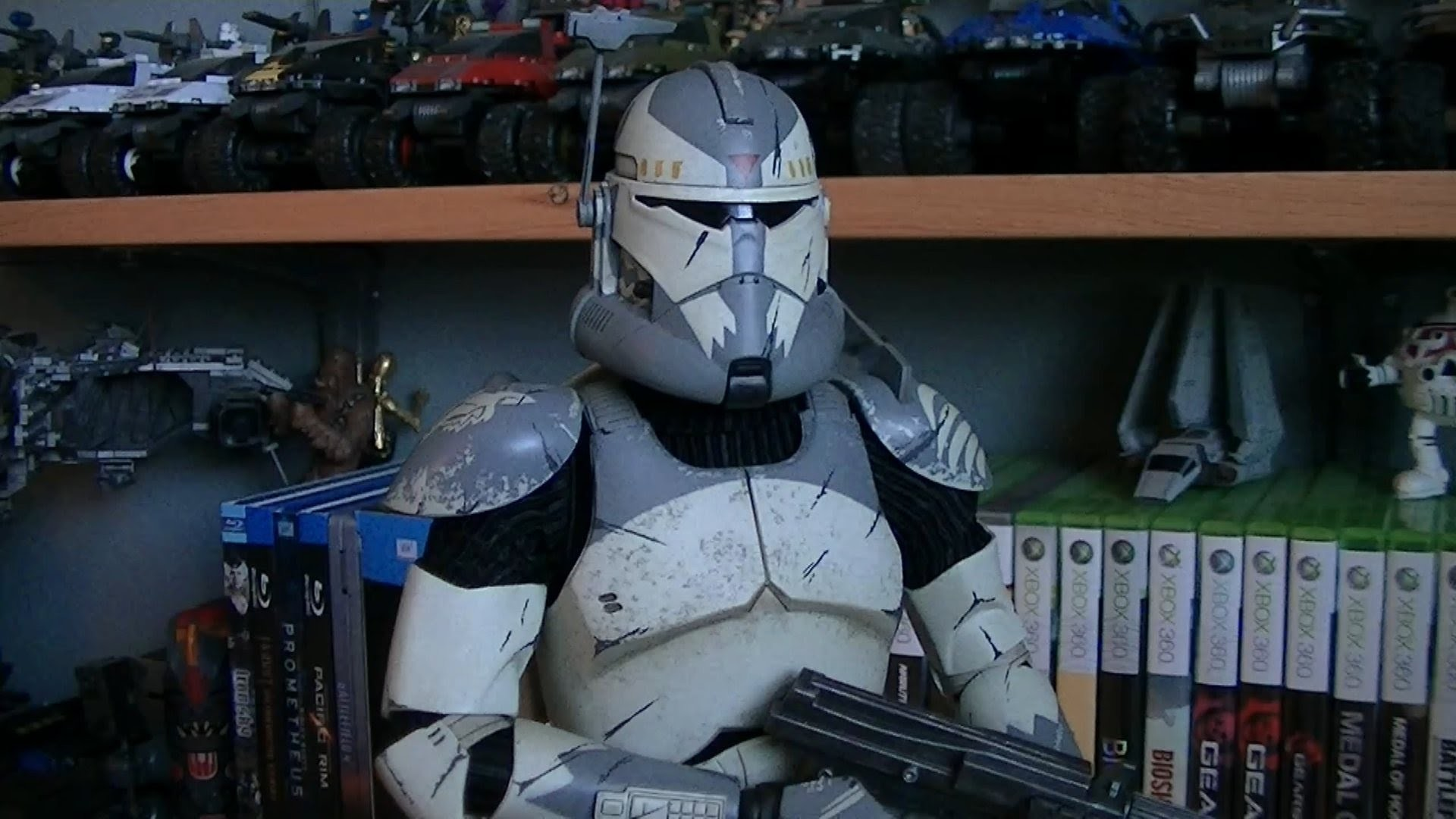 Sideshow Collectibles Clone Commander Wolffe (Militaries of Star Wars – 1:6  Scale Figure) Review – YouTube