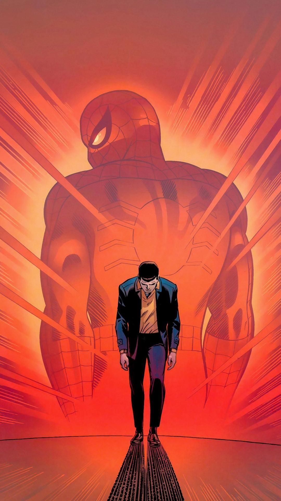 wallpaper.wiki-Spiderman-Cartoon-Wallpaper-for-Iphone-PIC-
