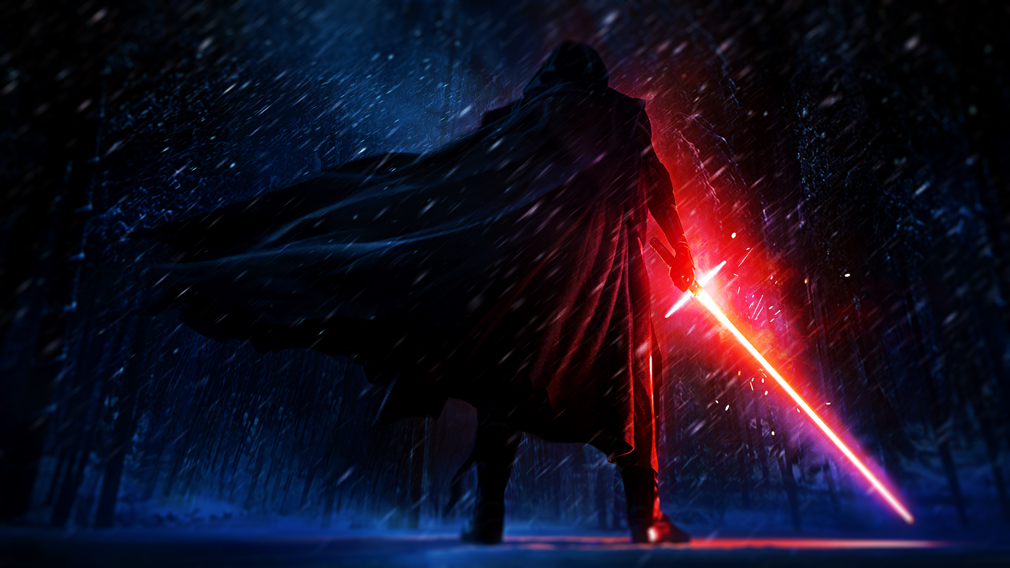 4k Kylo Ren – Star Wars – Artwork [Wallpaper] by NicolasLFBV on .