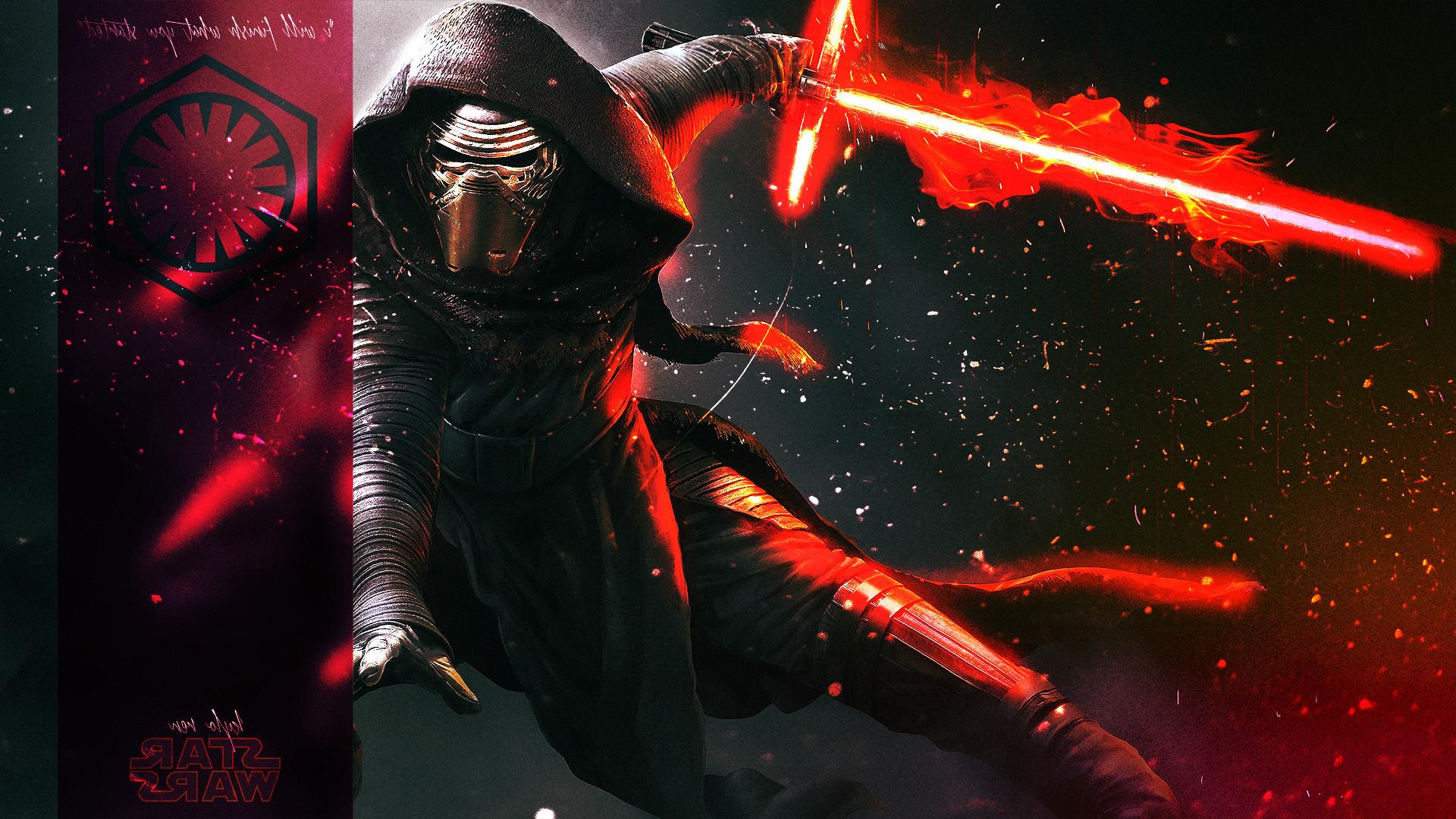 Star Wars: Episode VII The Force Awakens, Kylo Ren, Fan .