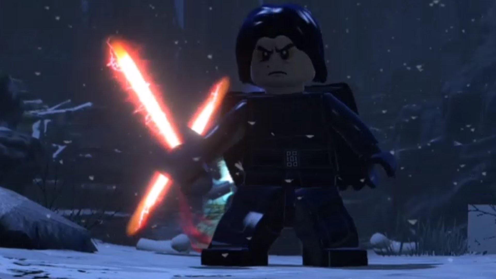 LEGO Star Wars: The Force Awakens – Kylo Ren   Final Boss Fight [HD] –  YouTube