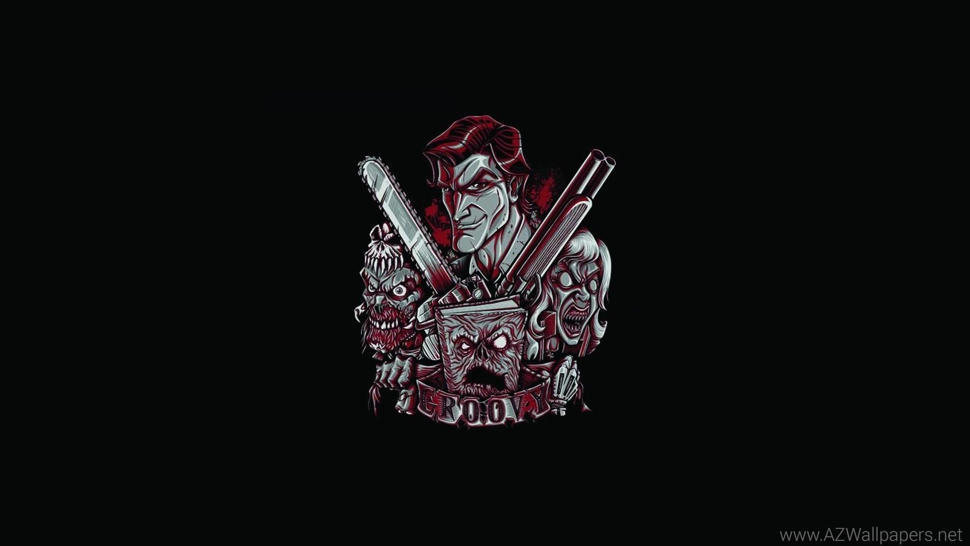 Evil Dead Black Army Of Darkness Dark Zombie Wallpapers