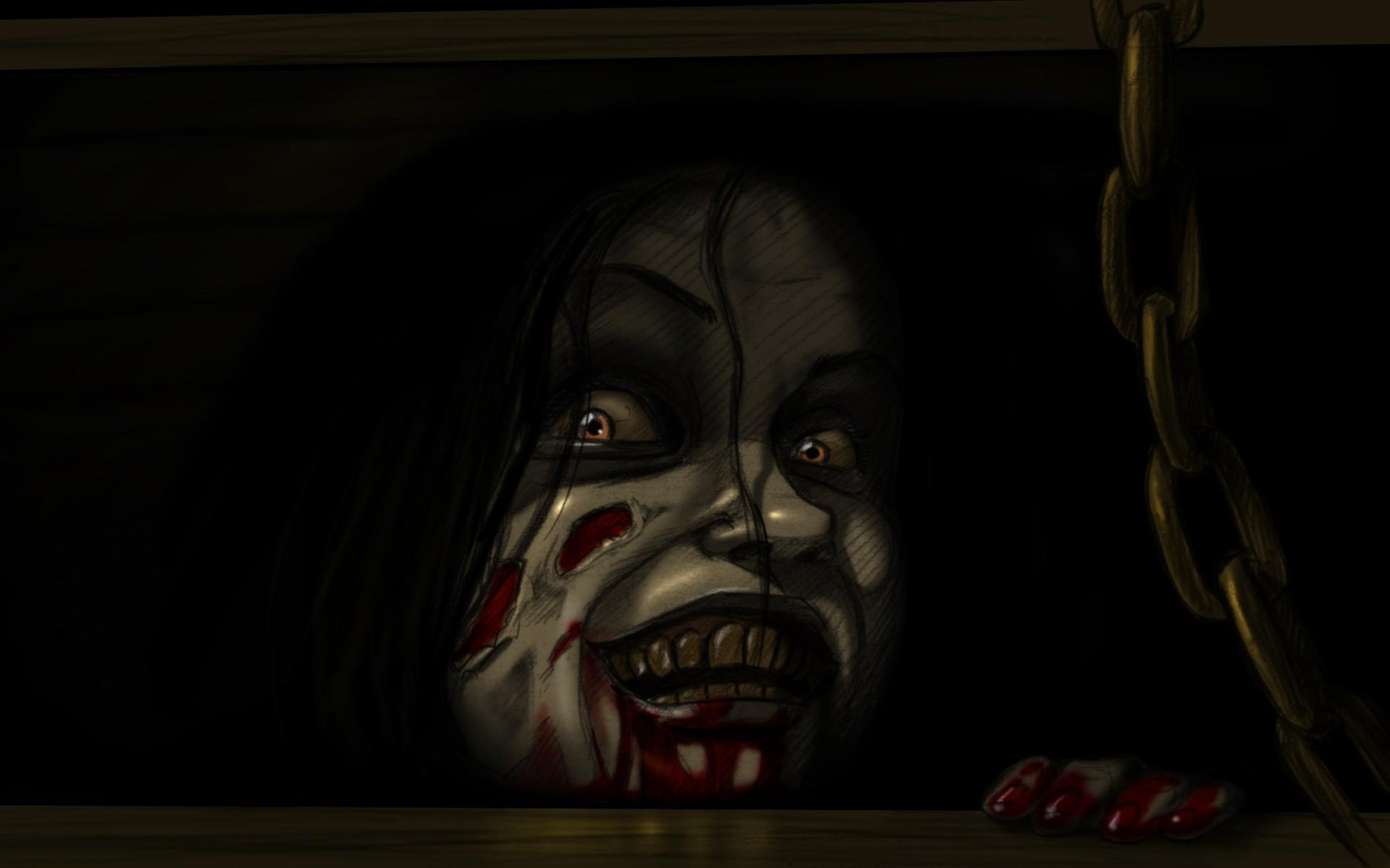 Wallpaper the evil dead, horror, mia