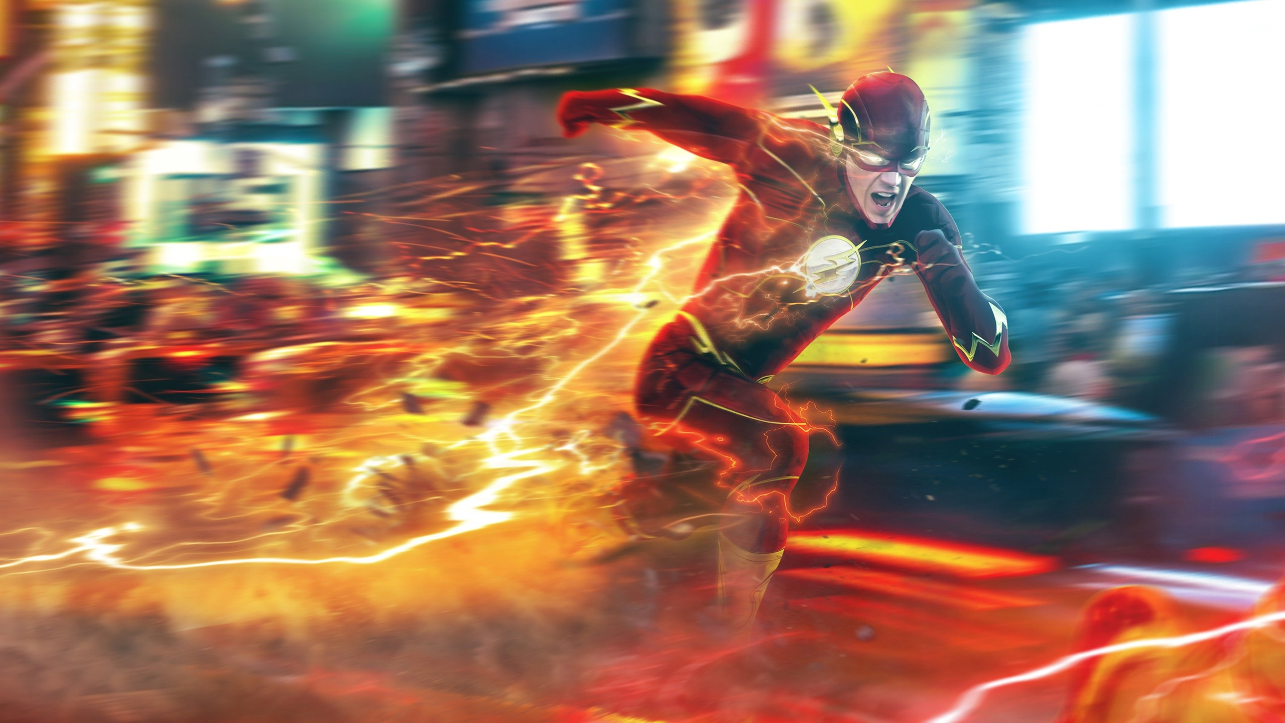 The Flash 4K Wallpaper | Awesome | Pinterest | Eddie thawne and Eobard  thawne