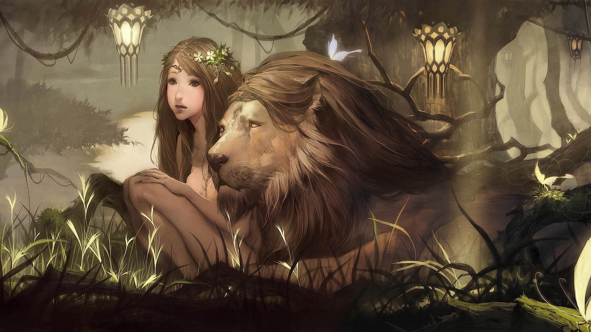 lion hd wallpaper 300