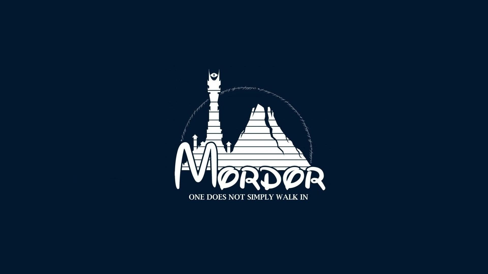 Disney Company Logo Mordor Sauron Simplistic The Lord Of Rings …