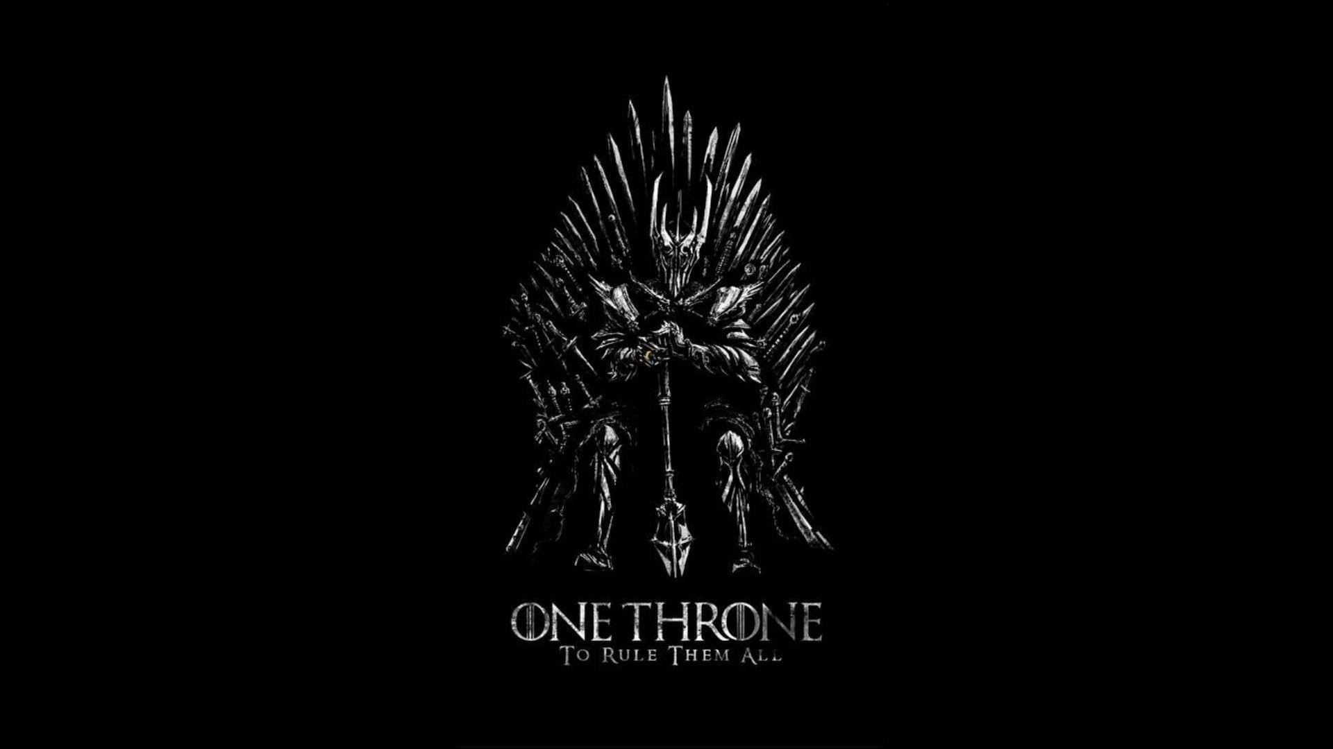 Game Of Thrones Iron Throne Sauron The Lord Rings …