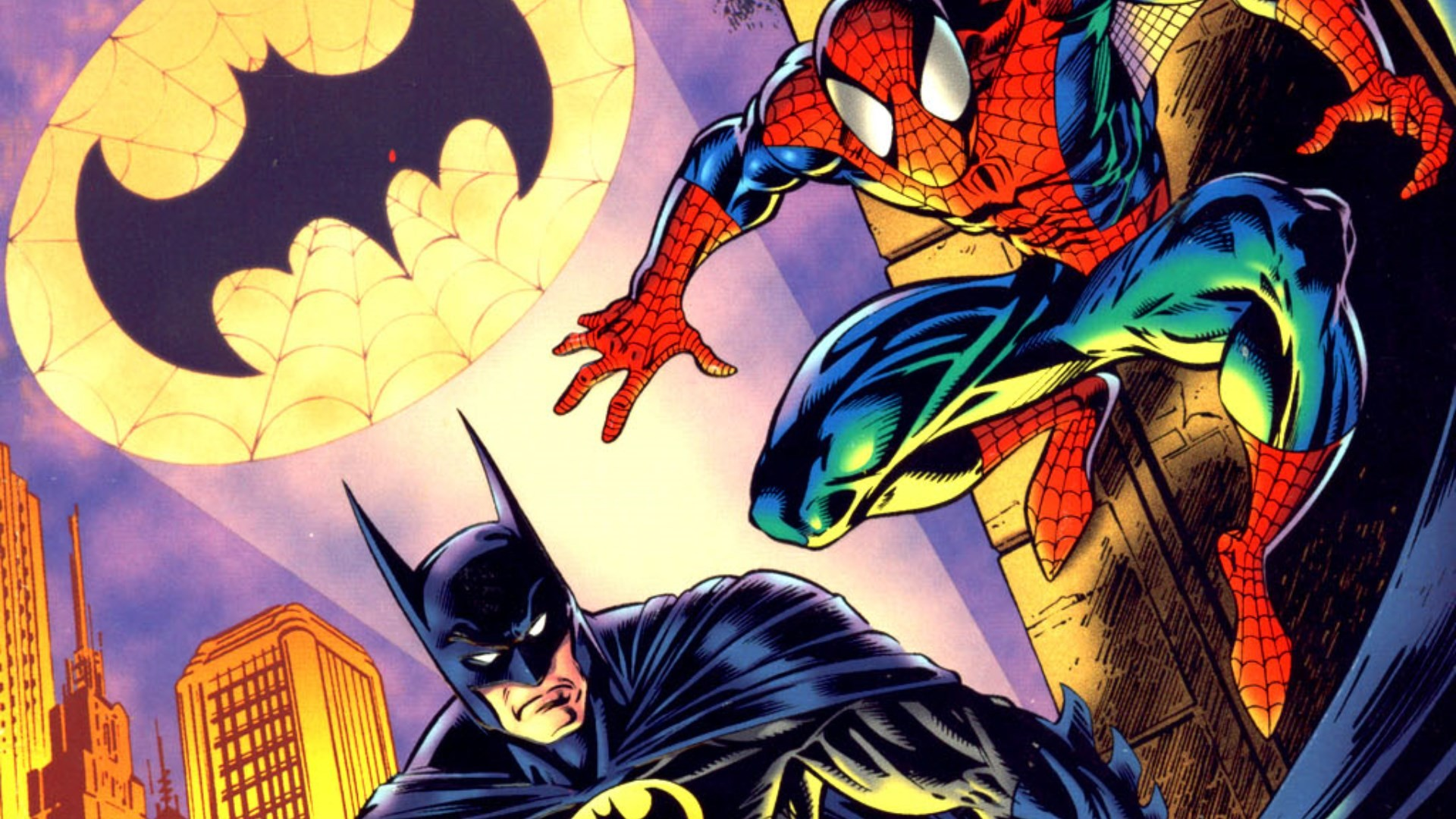 free screensaver wallpapers for spider man and batman