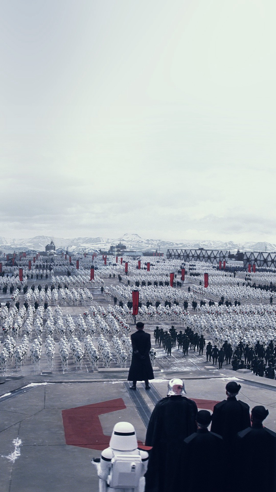 Force Awakens Starwars First Order Art Film #iPhone #6 #plus #wallpaper