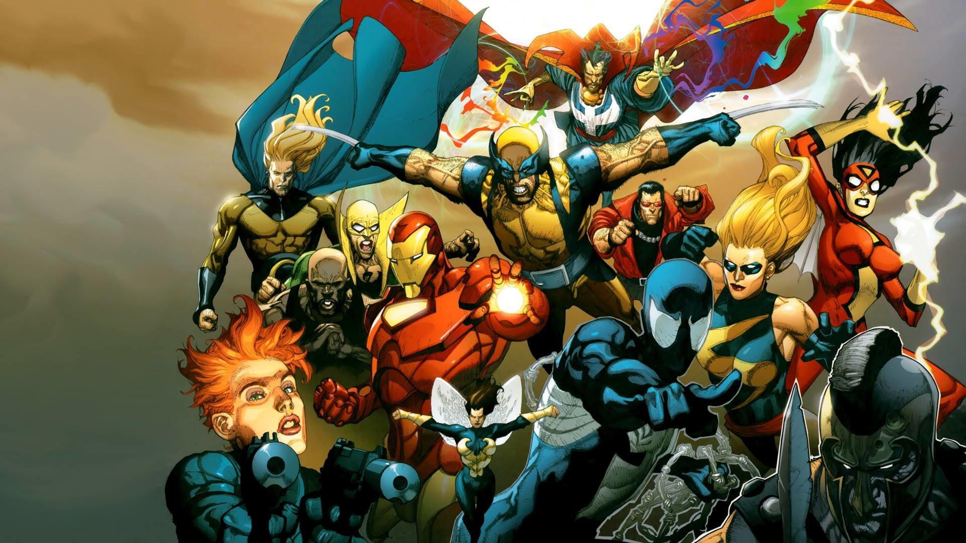 Wallpapers For > Avengers Comic Wallpaper