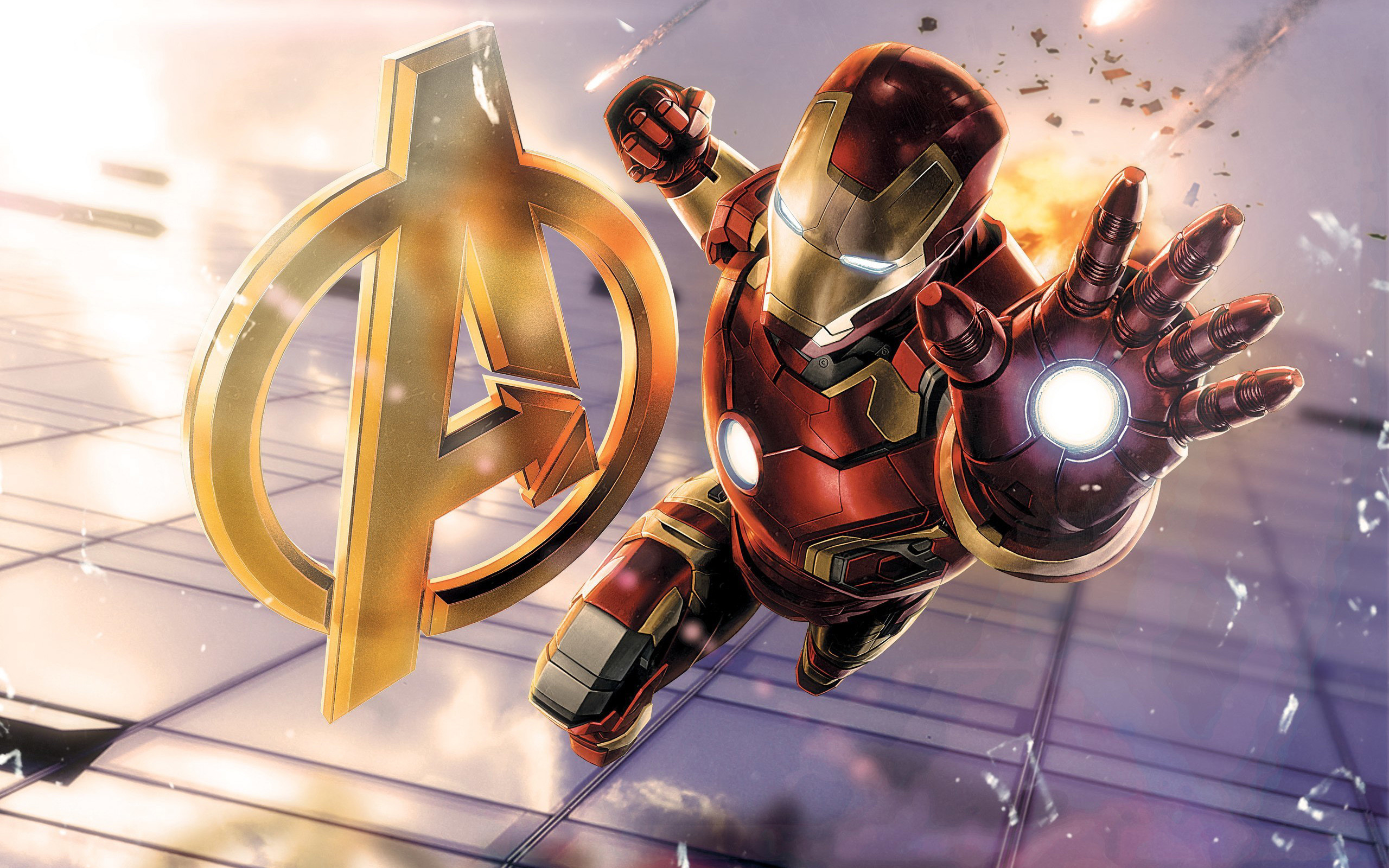 0 Iron Man Hulkbuster Avengers Wallpapers HD Wallpapers Iron Man Wallpaper  Minimal Arts Download