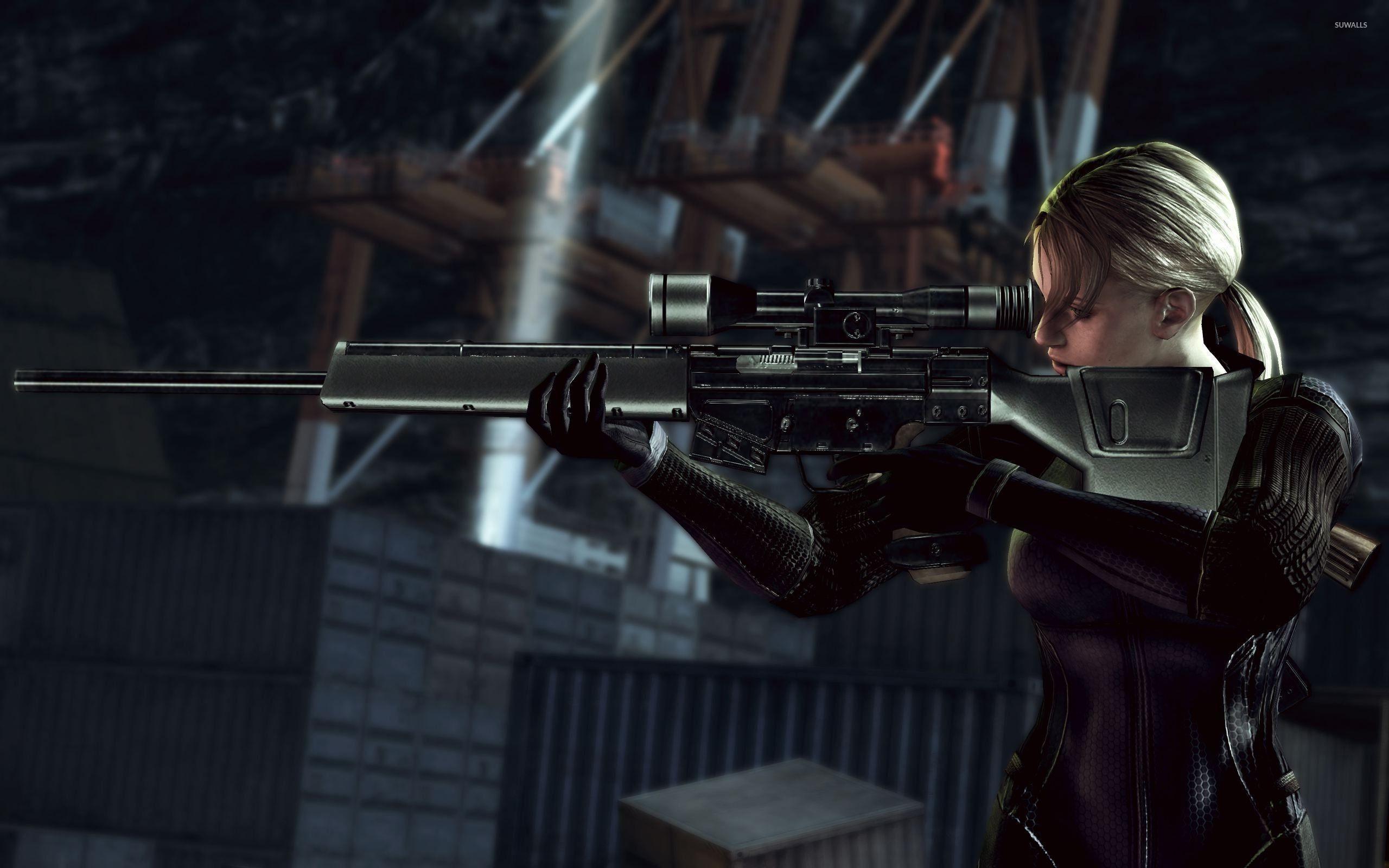 Jill Valentine – Resident Evil wallpaper