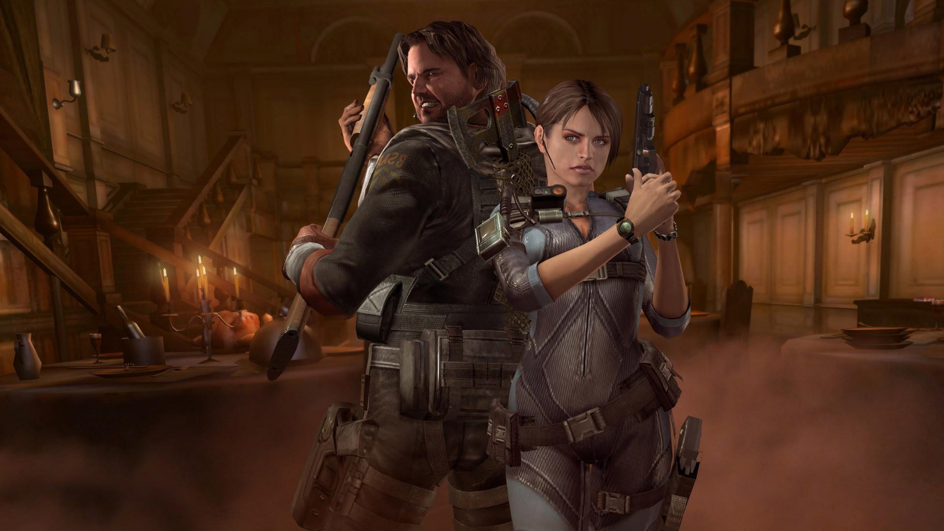 Jill Valentine Chris Redfield Resident Evil Revelati Wallpapers