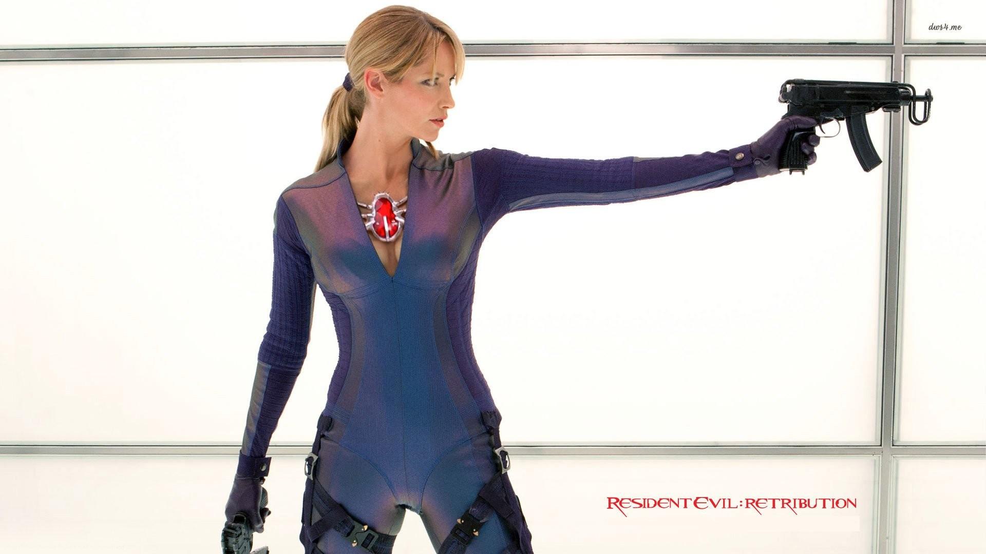 Jill Valentine – Resident Evil Retribution …