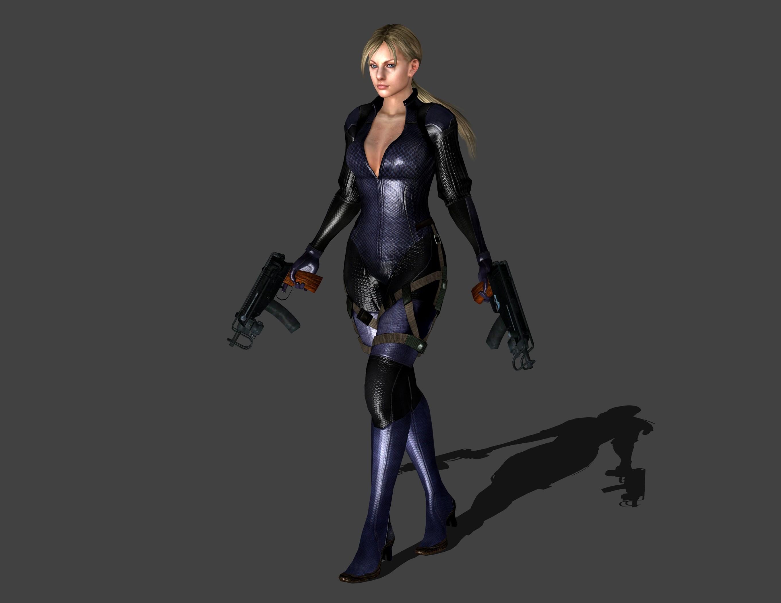 … Resident Evil 5 – Jill Valentine MG Stand by IshikaHiruma