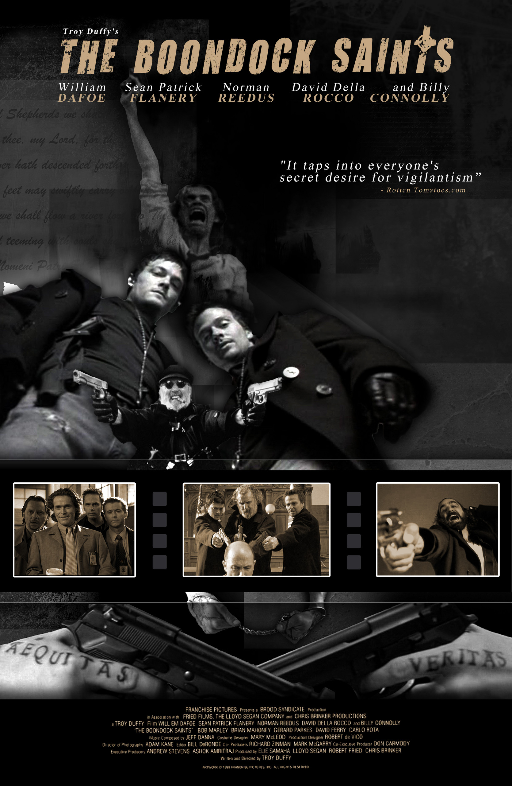 The Boondock Saints images Boondock Saints Movie Poster Idea HD wallpaper  and background photos