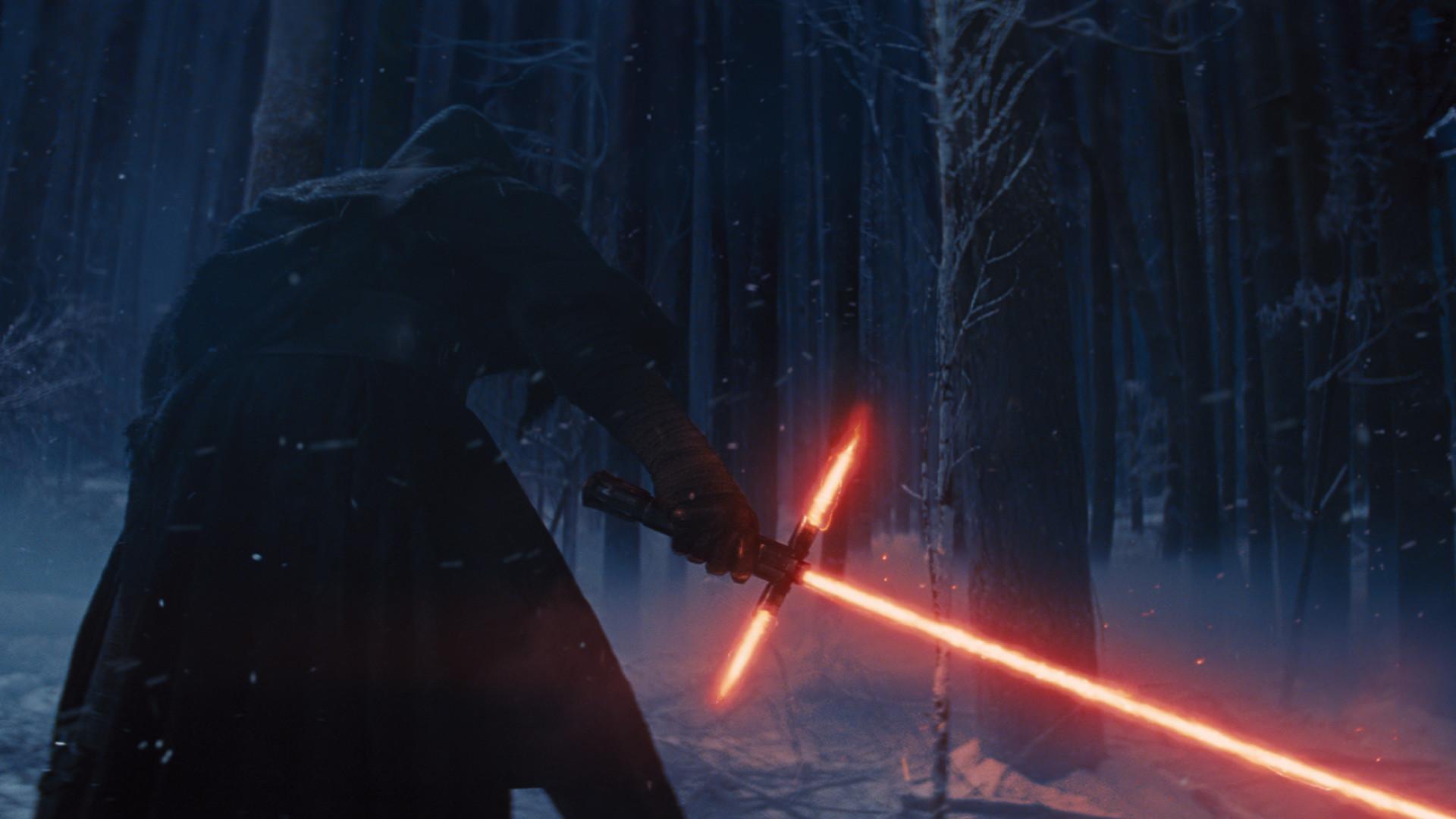 Movie – Star Wars Episode VII: The Force Awakens Star Wars Kylo Ren  Lightsaber Wallpaper