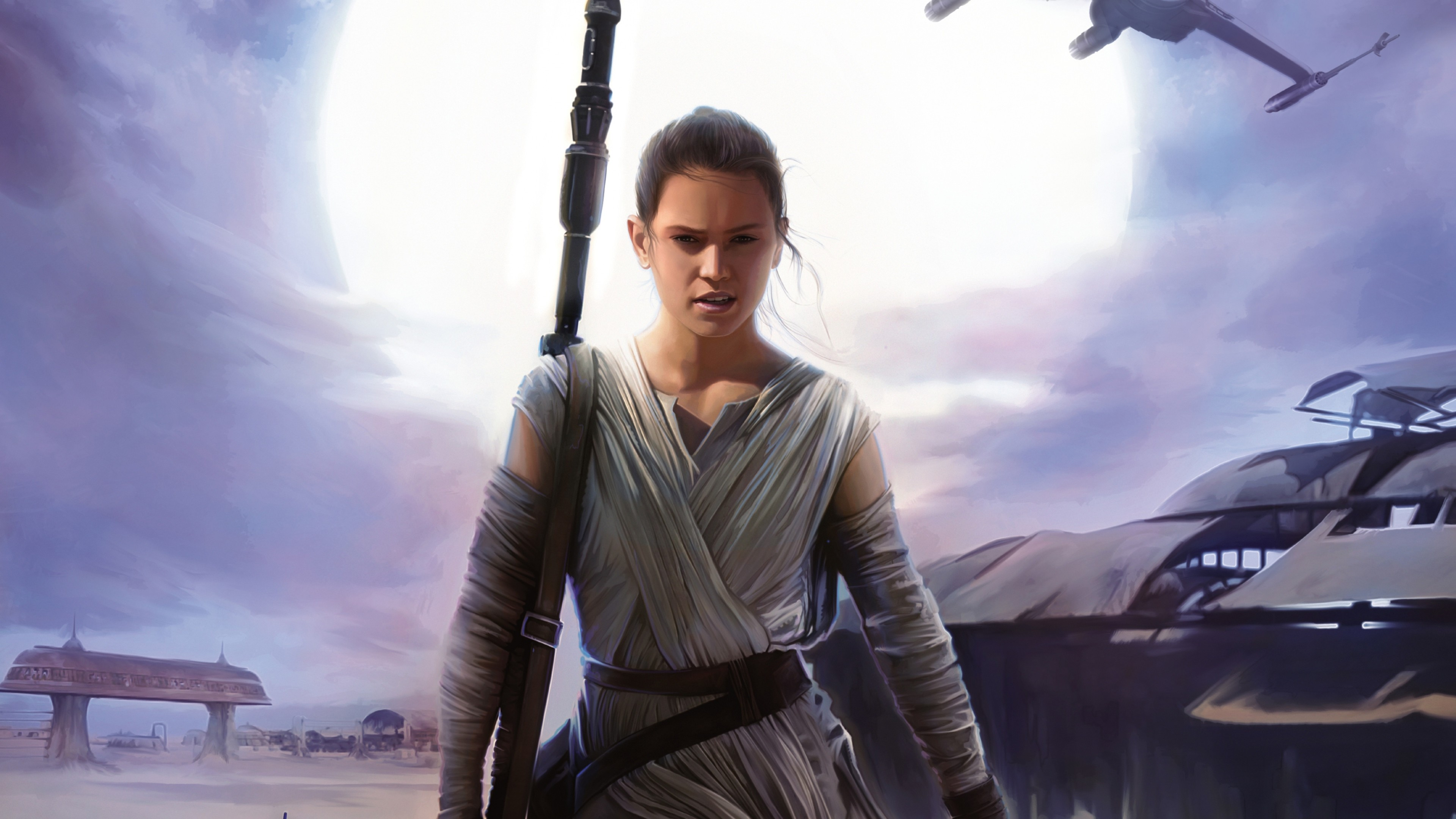 star wars episode vii the force awakens daisy ridley Star Wars HD Desktop  Wallpapers for Widescreen