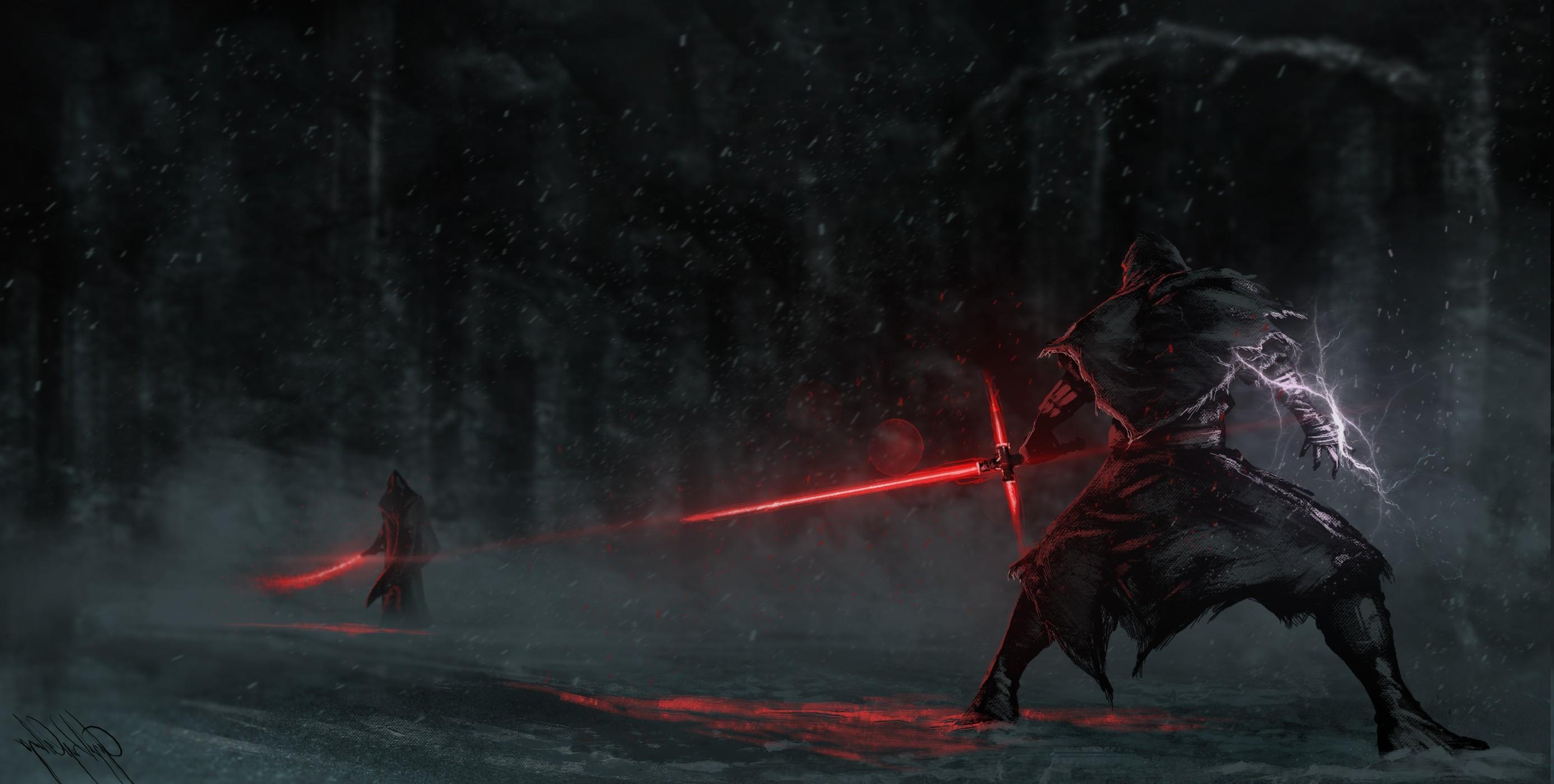 Star Wars: Episode VII The Force Awakens, Tsaber, Red, Artwork, Skyrace,  Sword, Star Wars Wallpapers HD / Desktop and Mobile Backgrounds