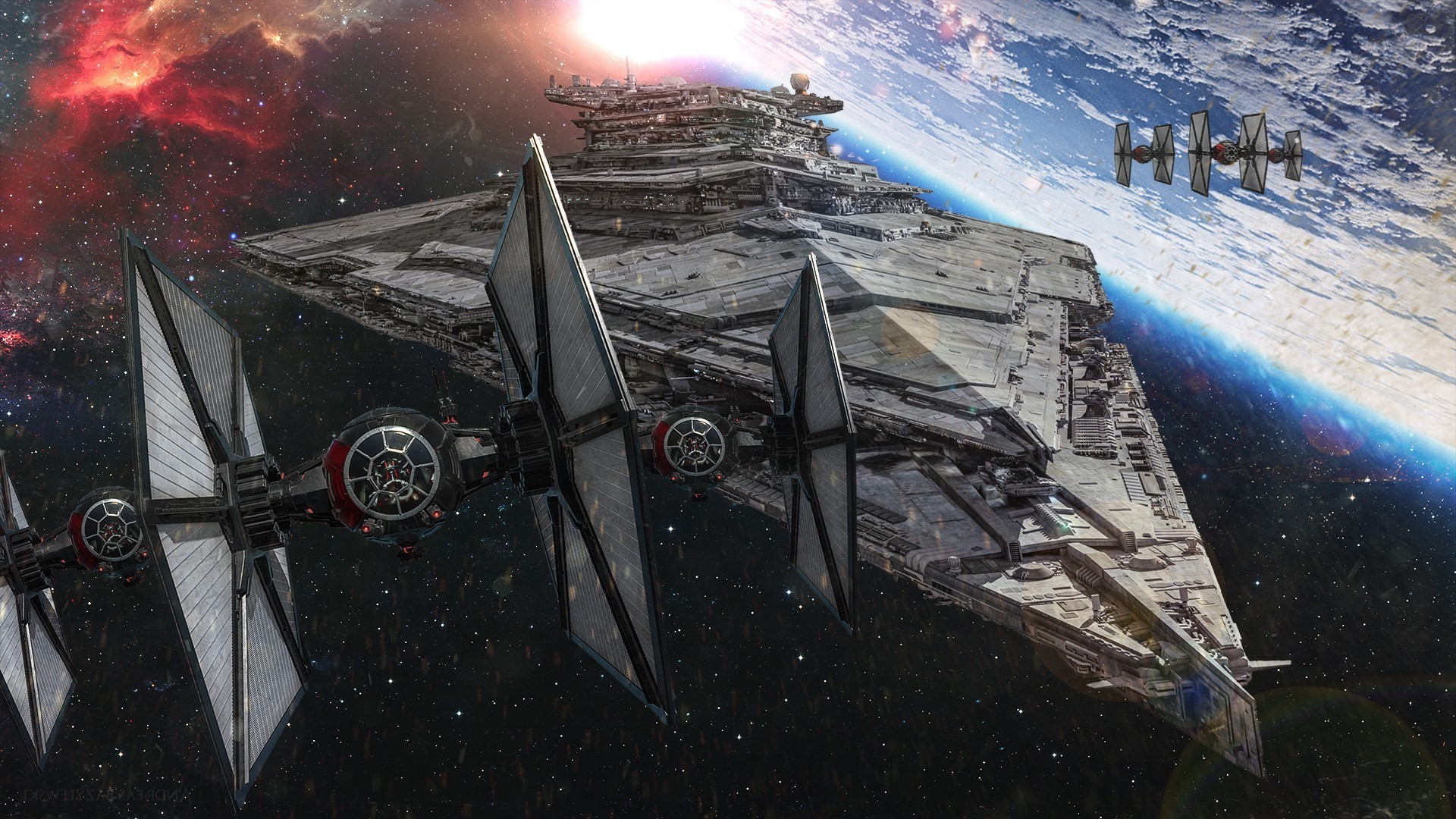 Star Wars: Episode VII The Force Awakens, Star Wars, Movies, Artwork Wallpapers  HD / Desktop and Mobile Backgrounds
