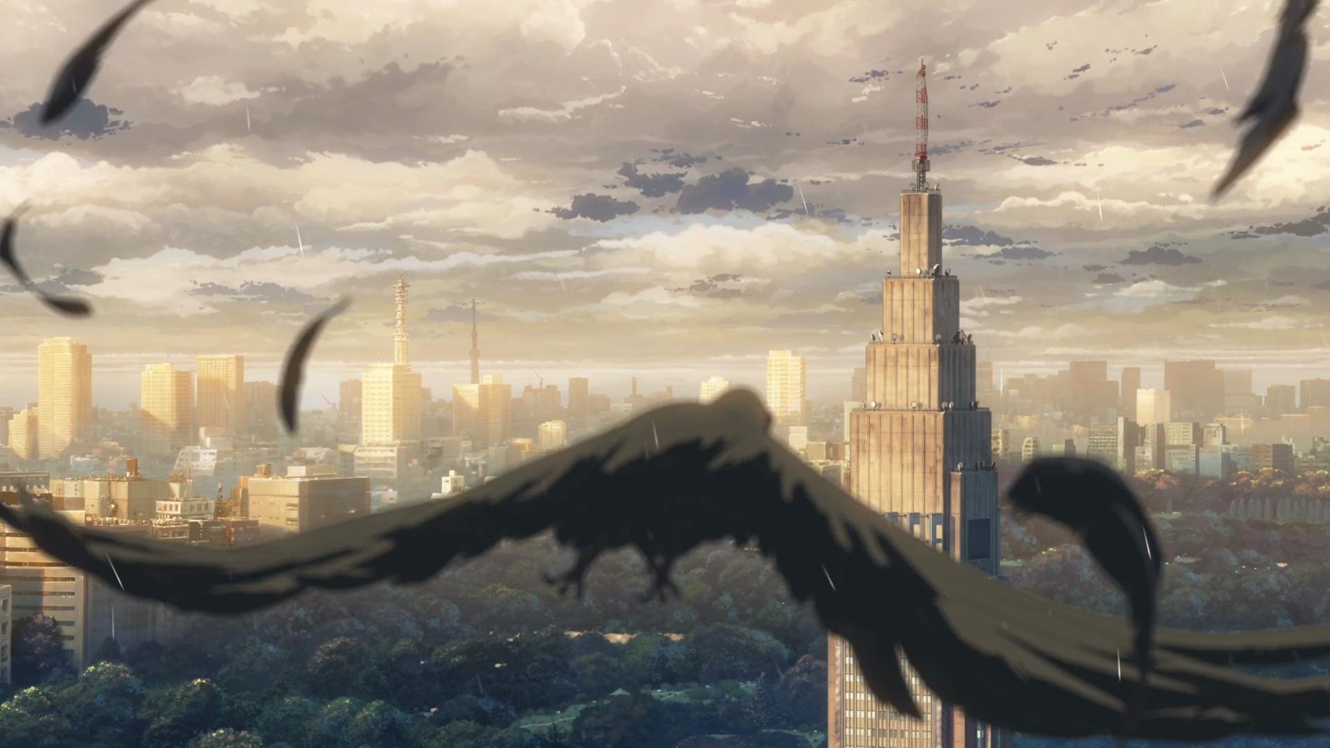 Wallpapers :: Makoto Shinkai, artwork, anime, The Garden of Words
