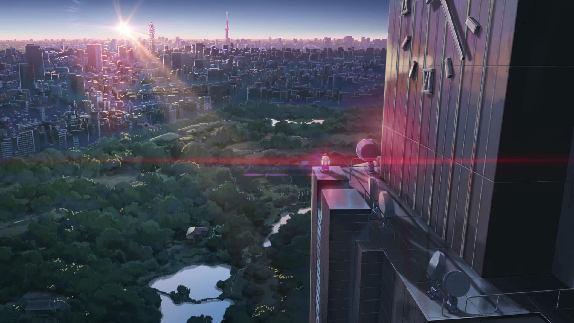 wallpaper Makoto Shinkai · artwork · anime · The Garden of Words