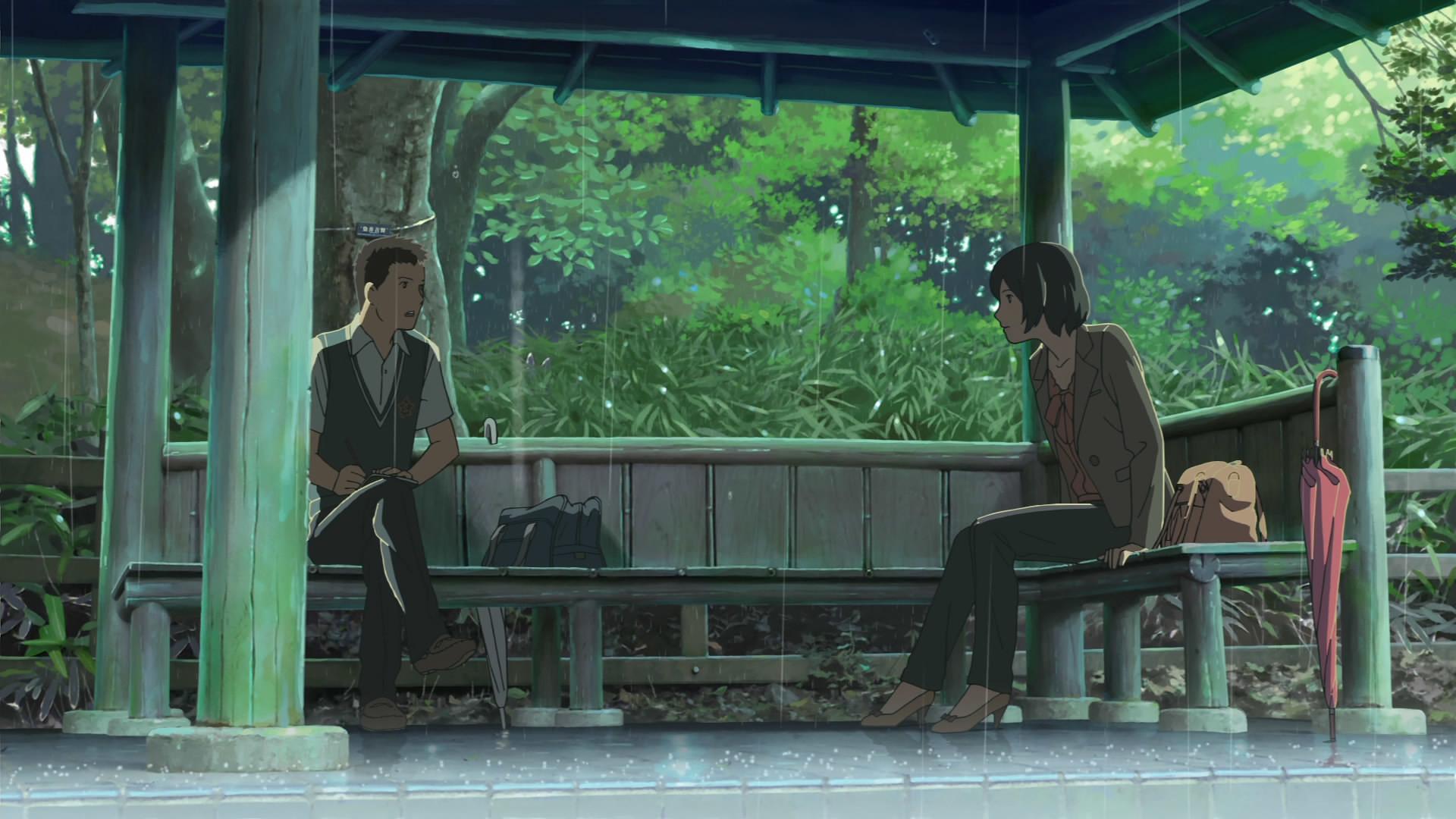 The Garden of Words (Makoto Shinkai) …