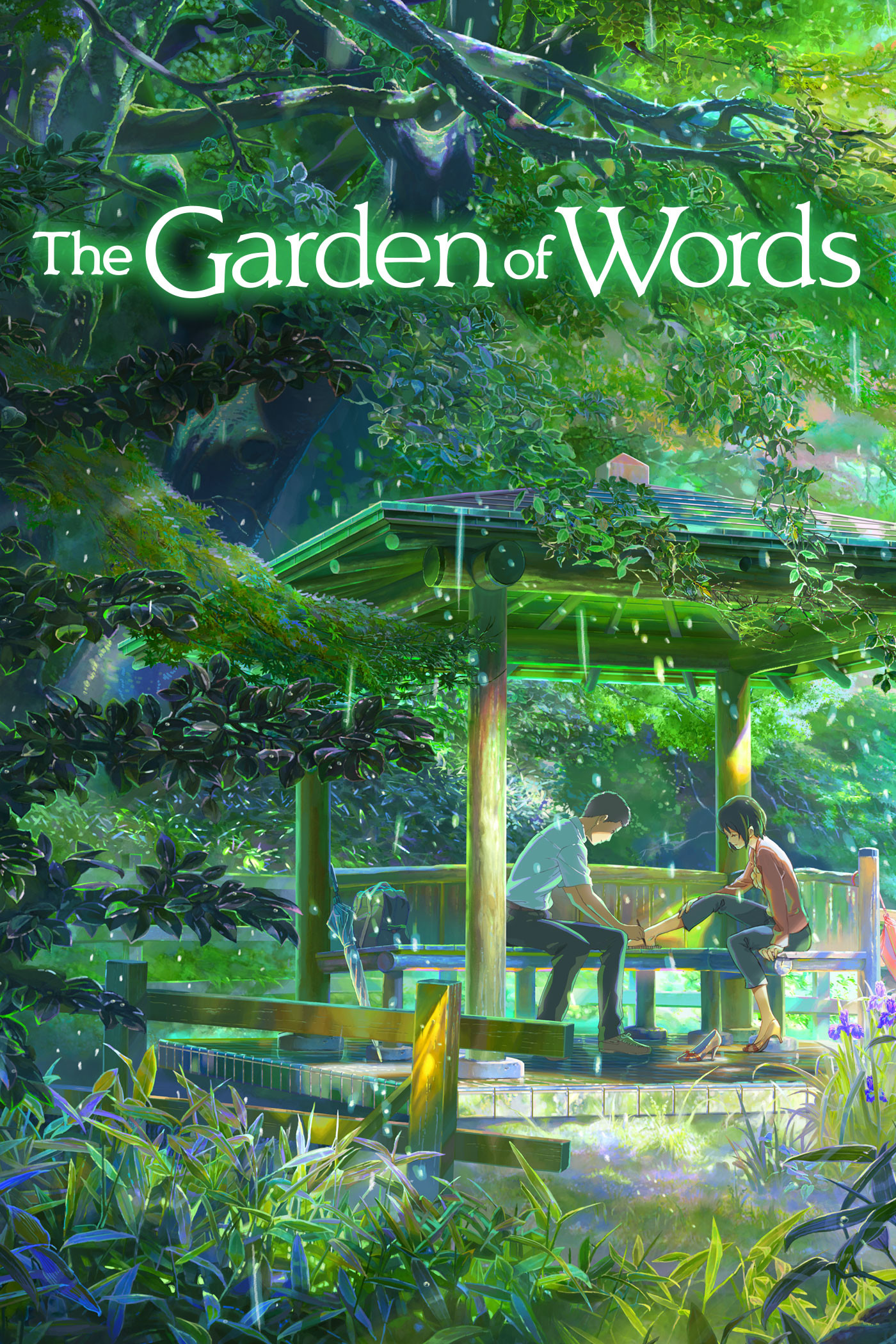 Kotonoha no Niwa images Kotonoha no Niwa (The Garden of Words) Poster HD  wallpaper and background photos