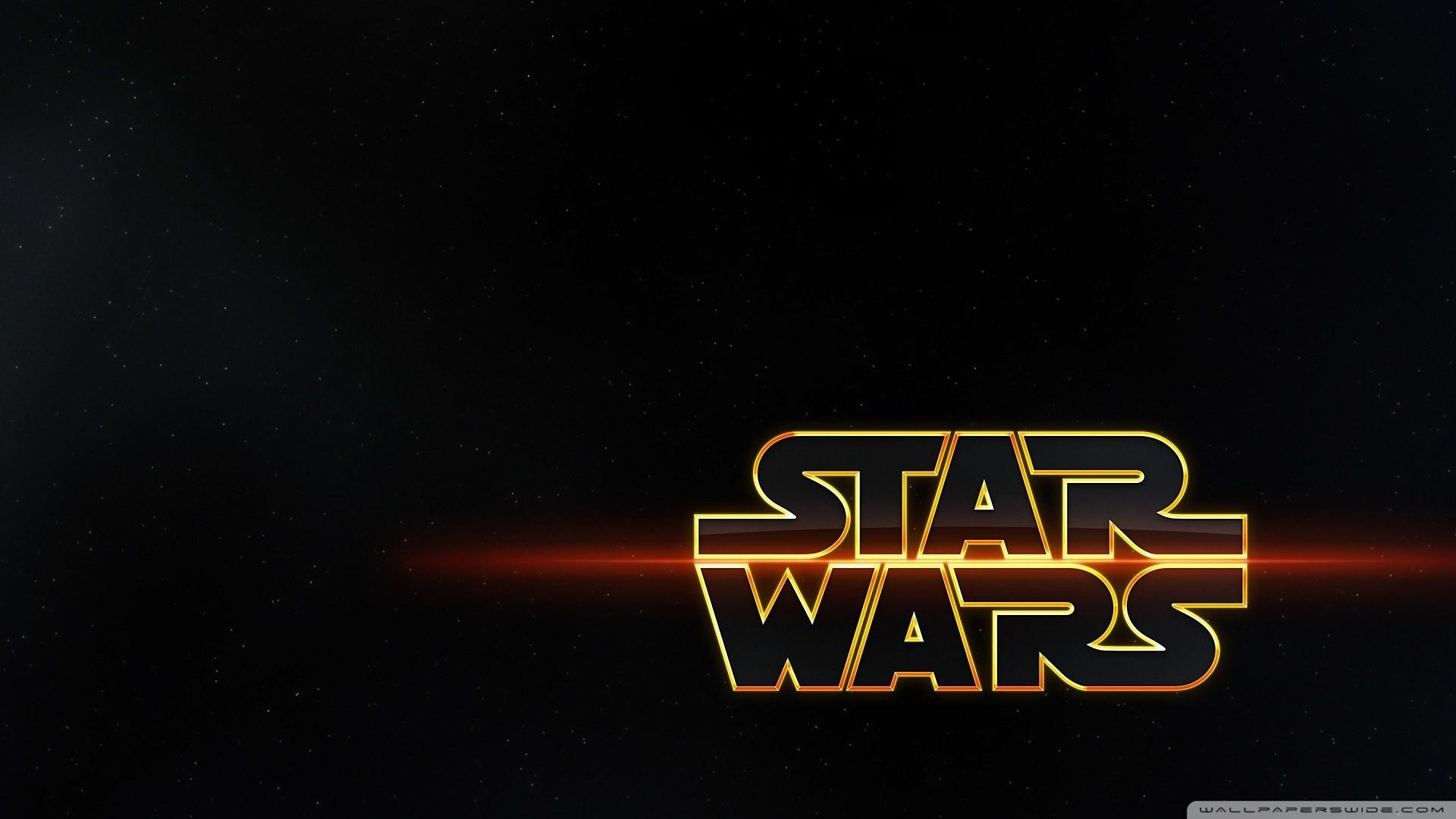 Star Wars Movie Logo HD Wallpaper Movies