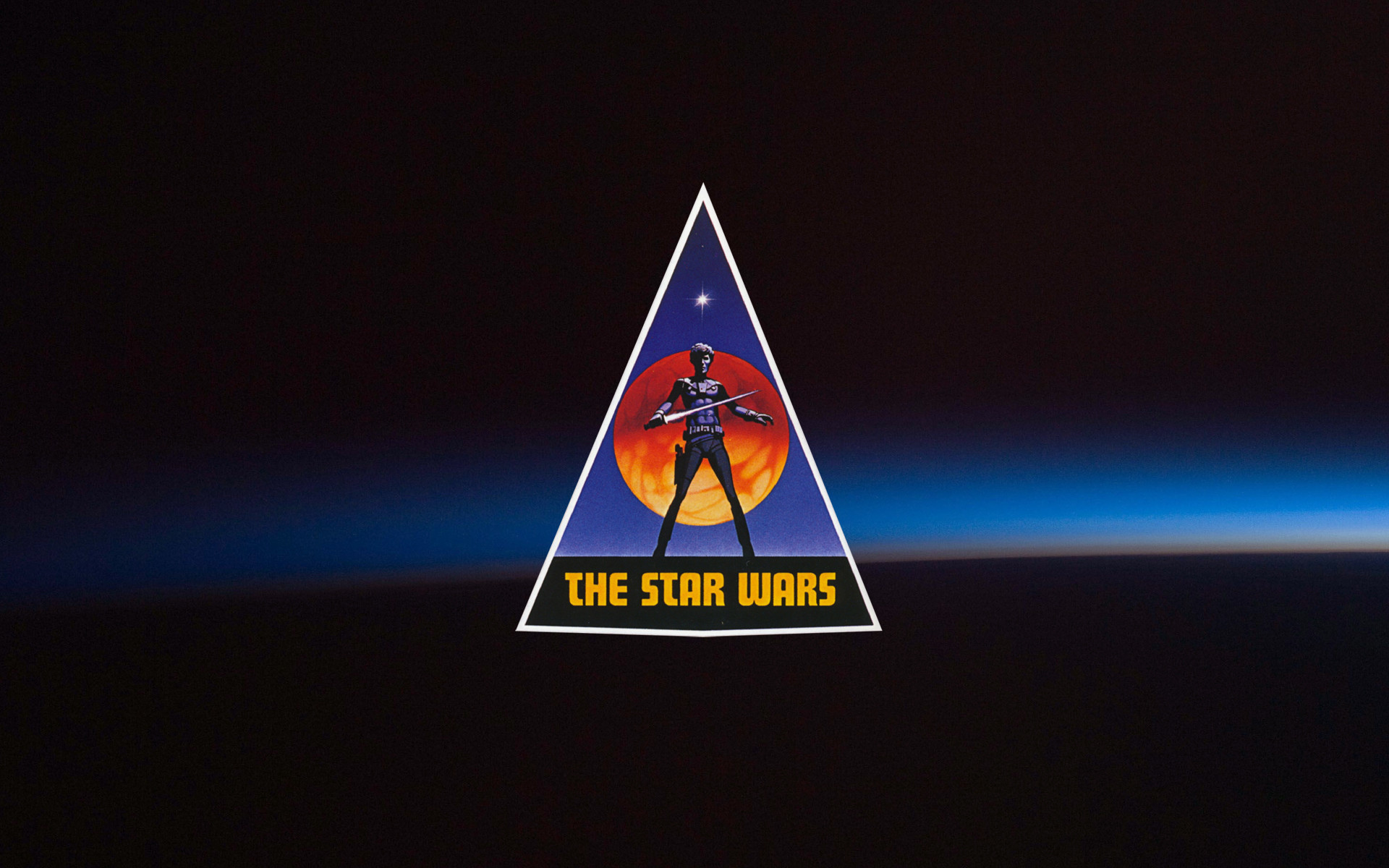 The Star Wars original logo. [1920×1200] (couldn't find a wallpaper size of  this so I made one myself) …
