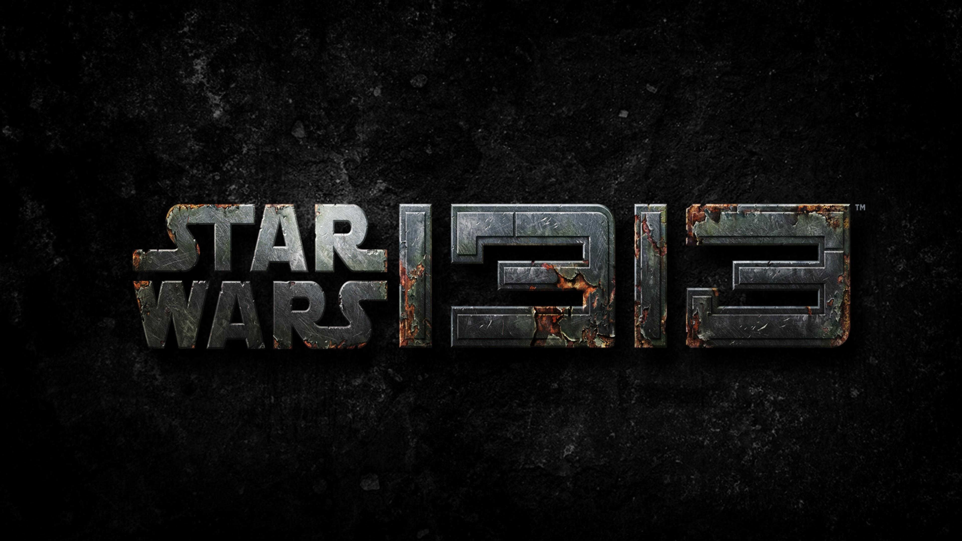 Preview wallpaper star wars 1313, star wars, logo, 2016 3840×2160