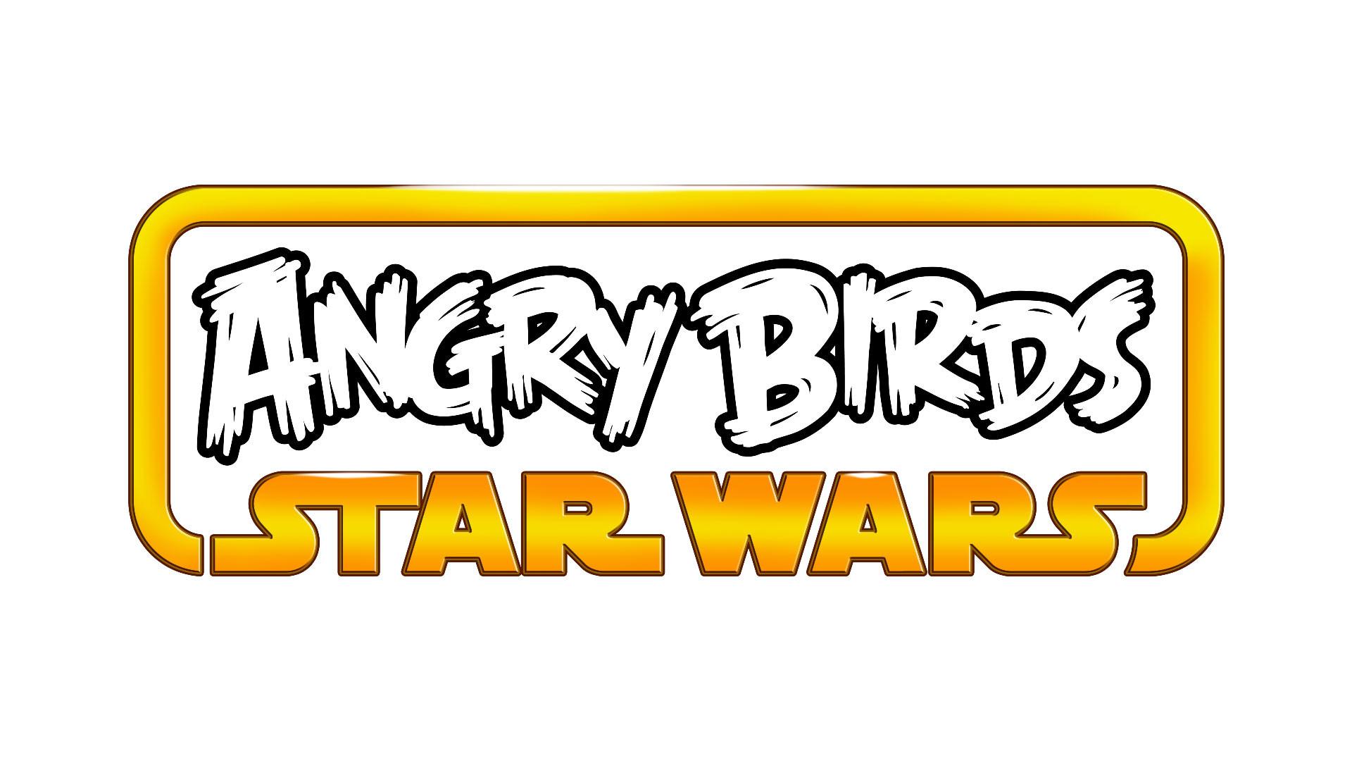 Angry Birds Star Wars Logo wallpaper