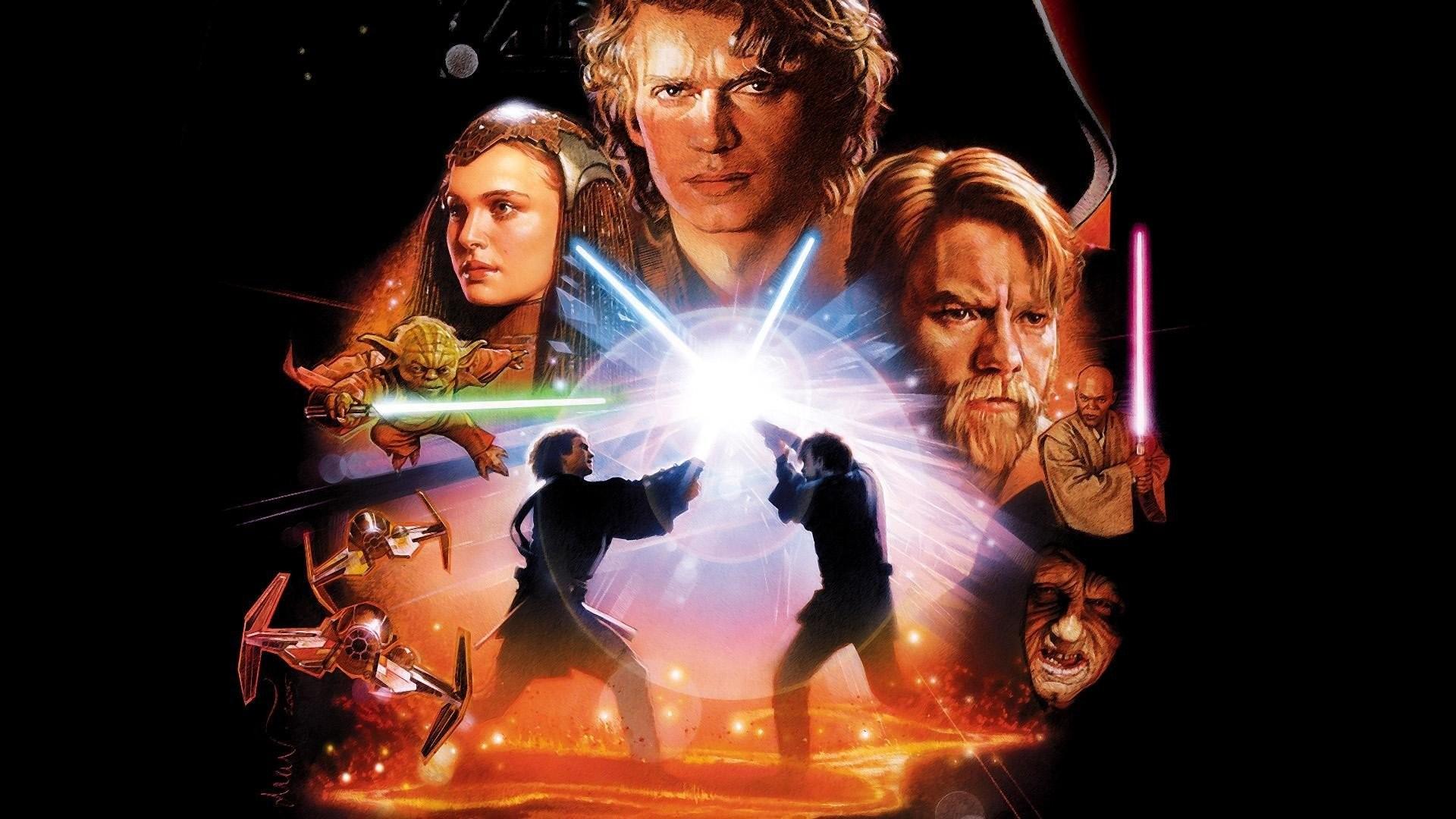 Movies Star Wars Episode III – The Revenge Of Sith Anakin Skywalker Padme  Amidala Obi-Wan Kenobi …