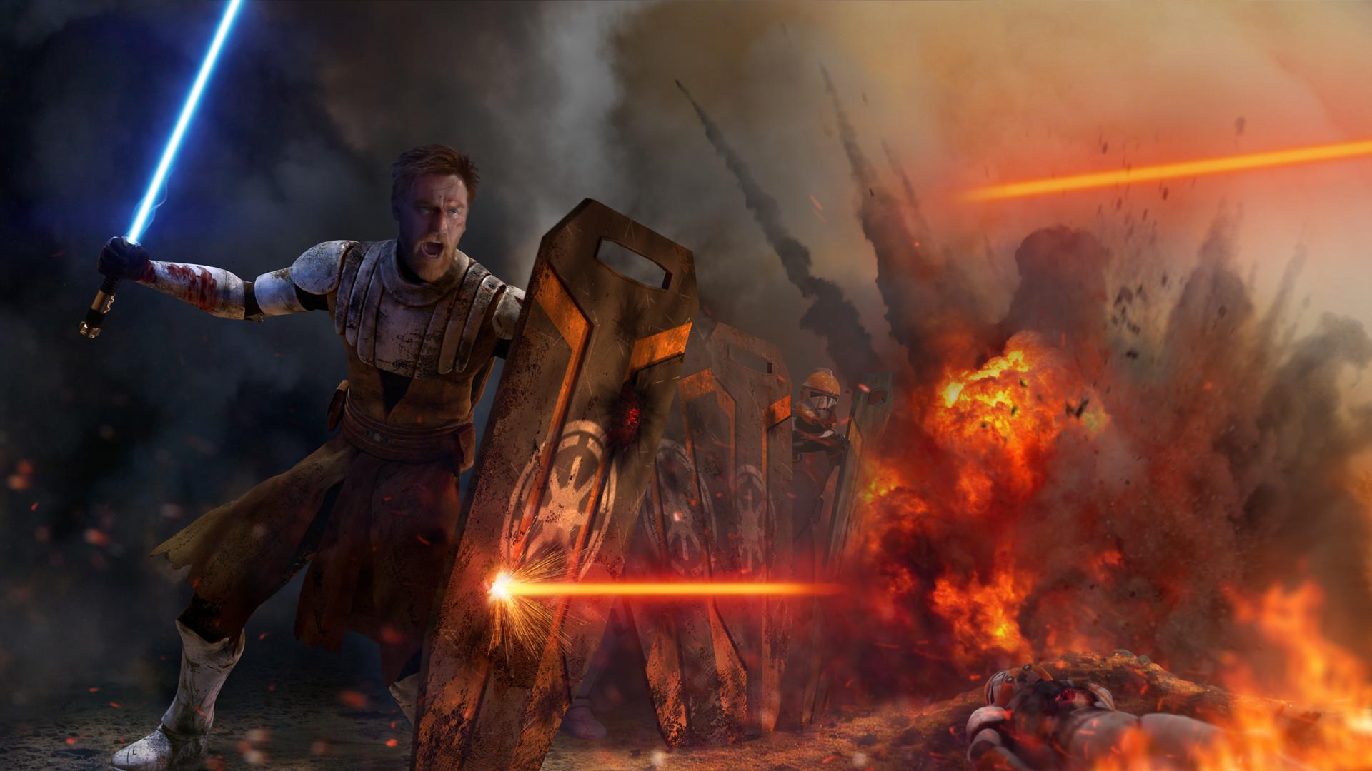 … Star Wars – Peacekeeper (Obi-Wan Kenobi) by thetechromancer