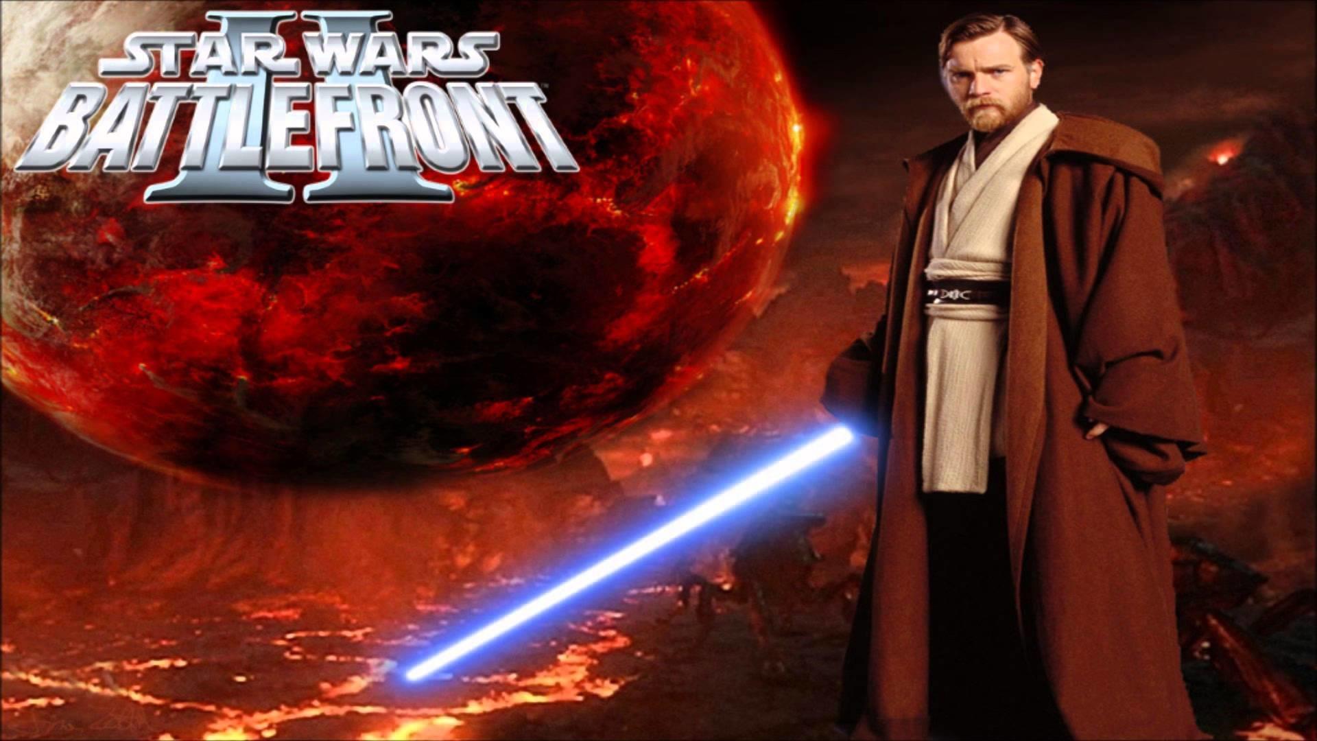 Star Wars Battlefront II Obi Wan Kenobi Theme extended