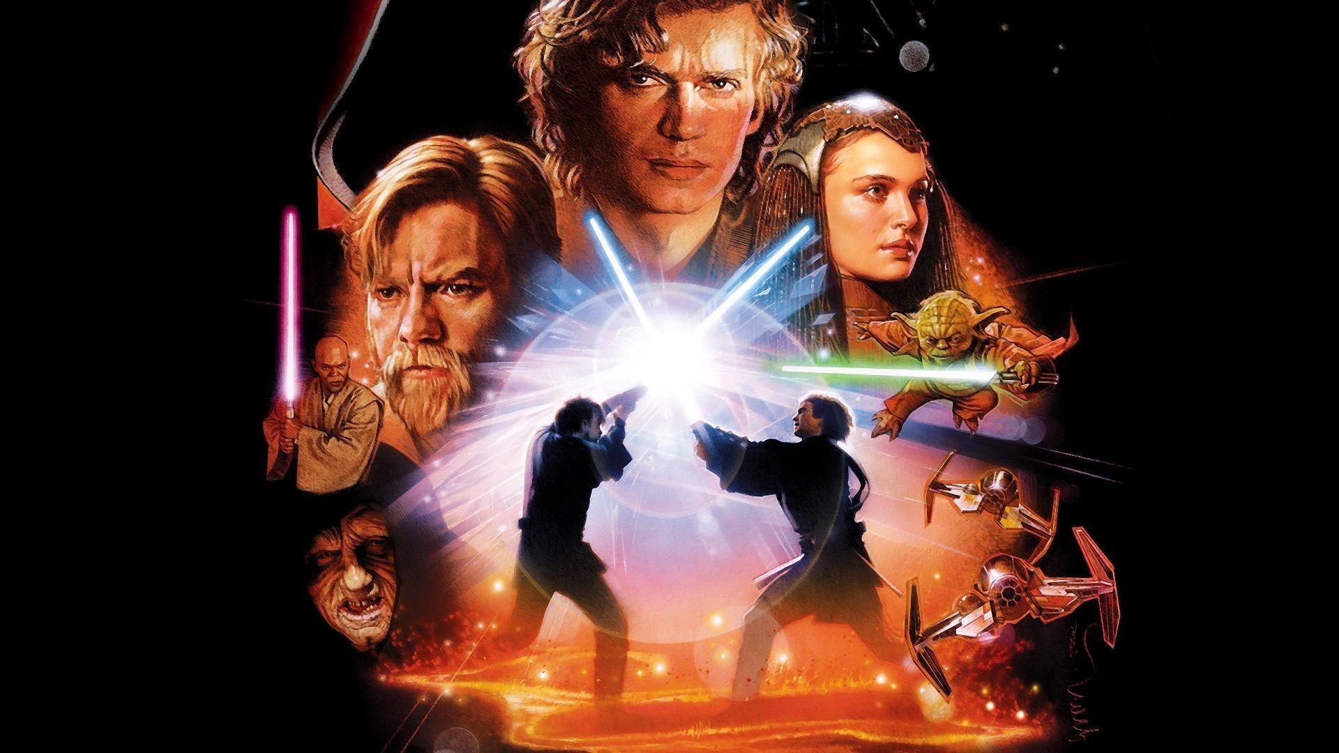 movies, Star Wars, Star Wars: Episode III The Revenge Of The Sith, Anakin  Skywalker, Padme Amidala, Obi Wan Kenobi Wallpapers HD / Desktop and Mobile  …