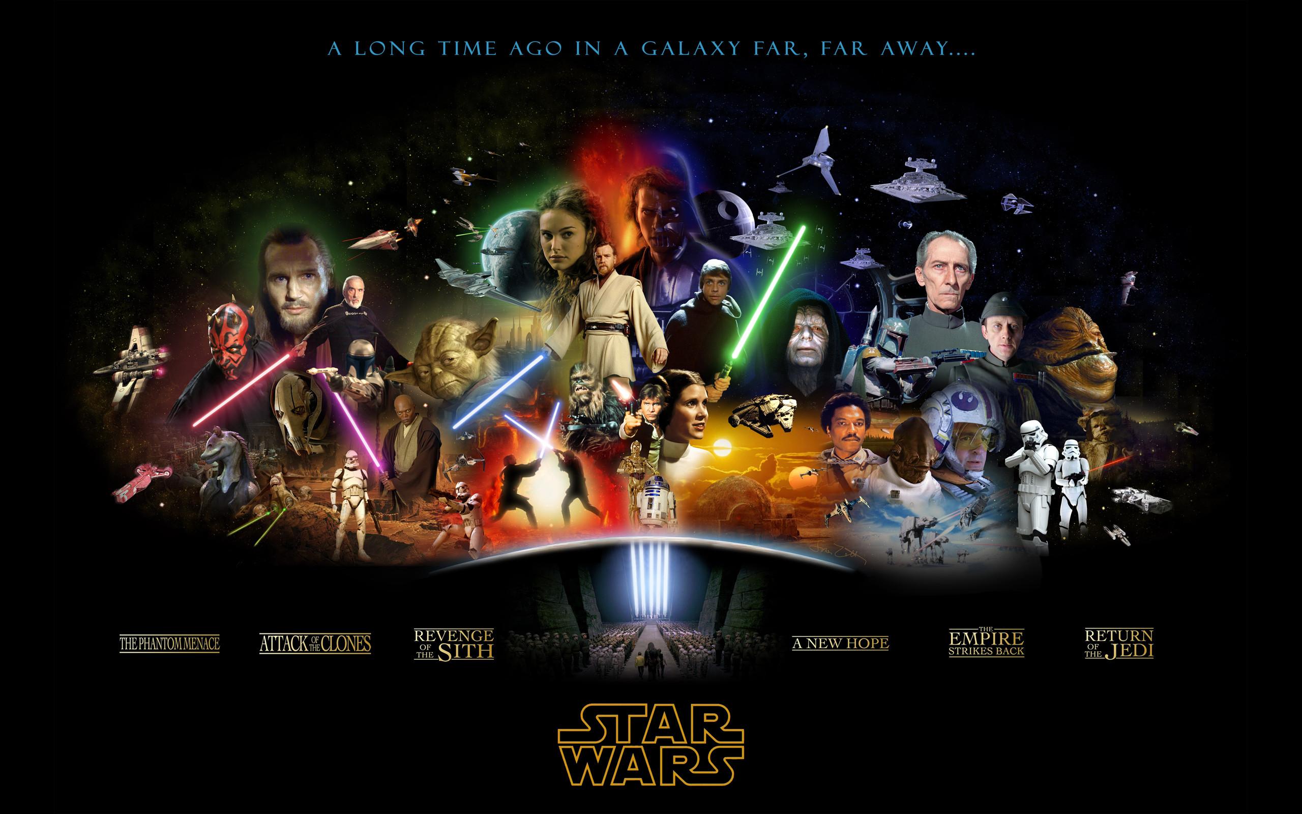 Anakin Skywalker Boba Fett Darth Maul Vader Jango Jar Binks Leia Organa  Luke Mace Windu Obi-Wan Kenobi Revenge Of The Sith Star Wars Empire Strikes  Back …