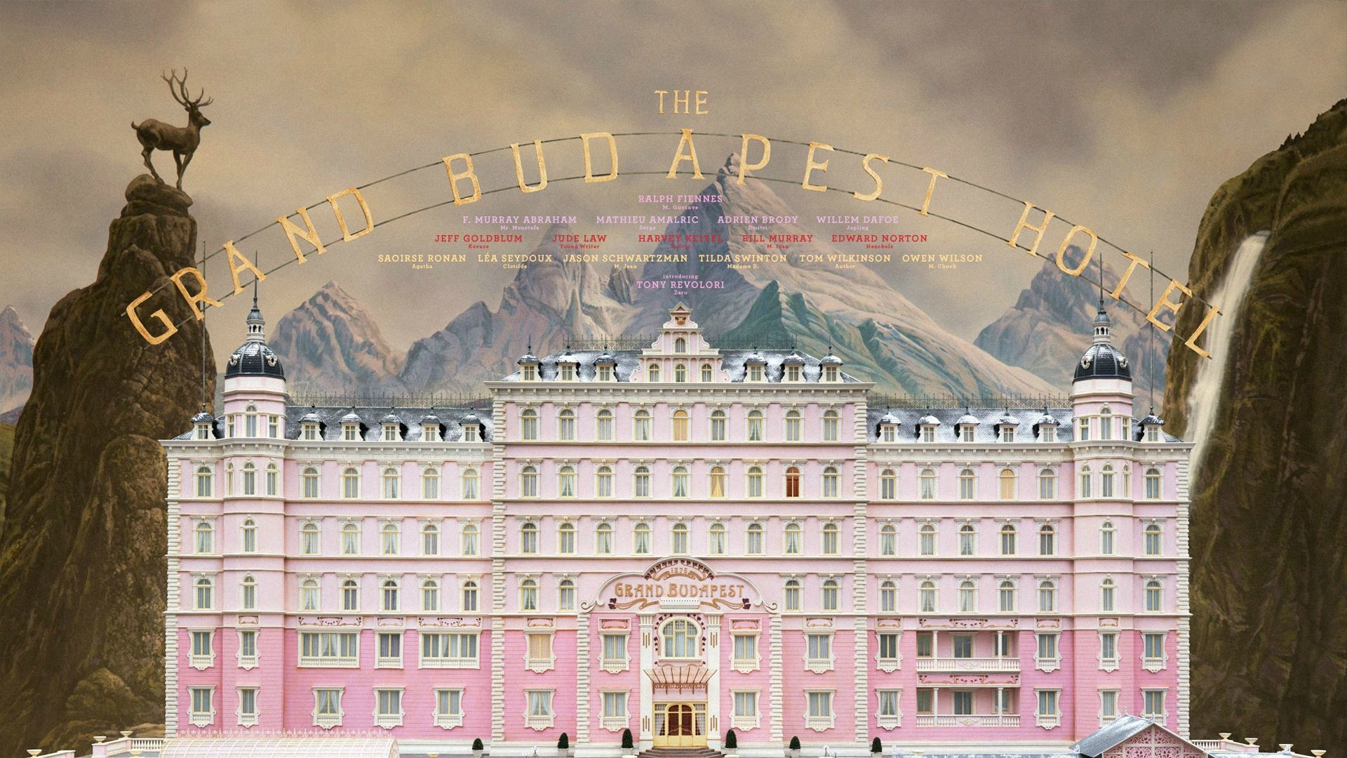 Wes Anderson. All great films.