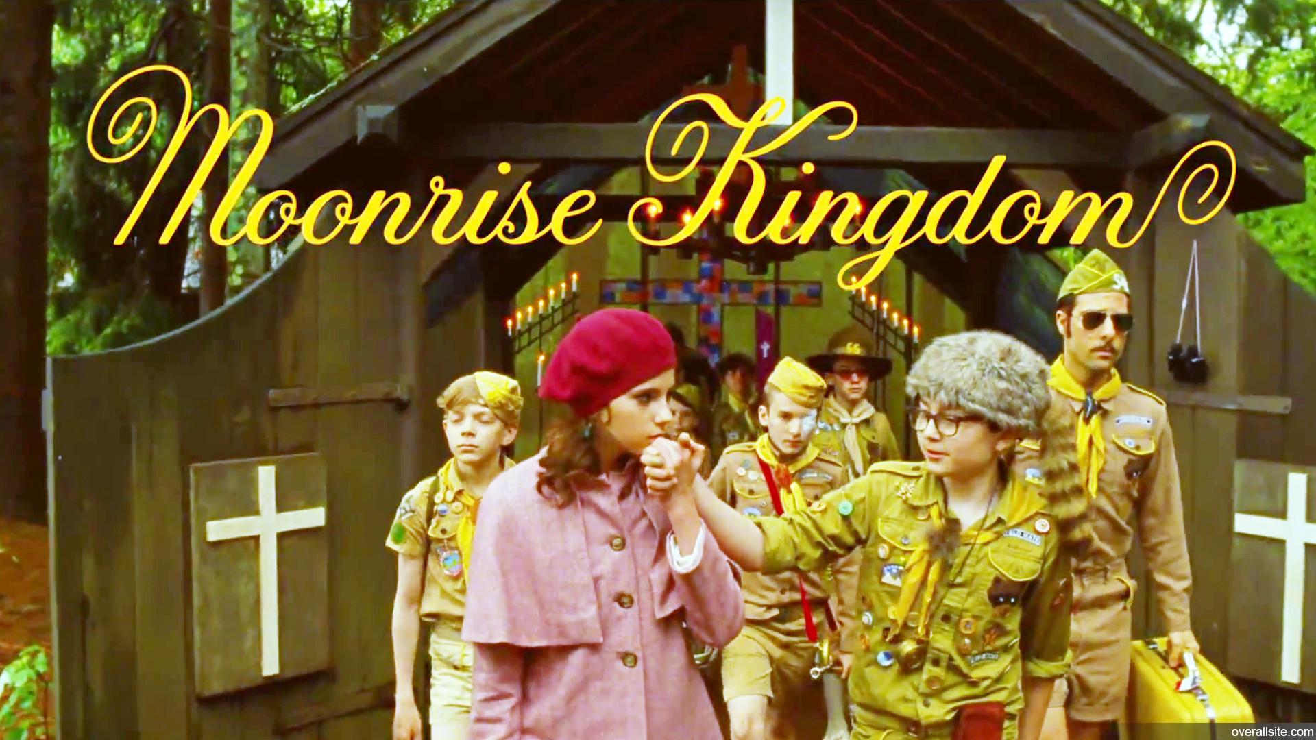 MOONRISE KINGDOM: 4 ½ STARS