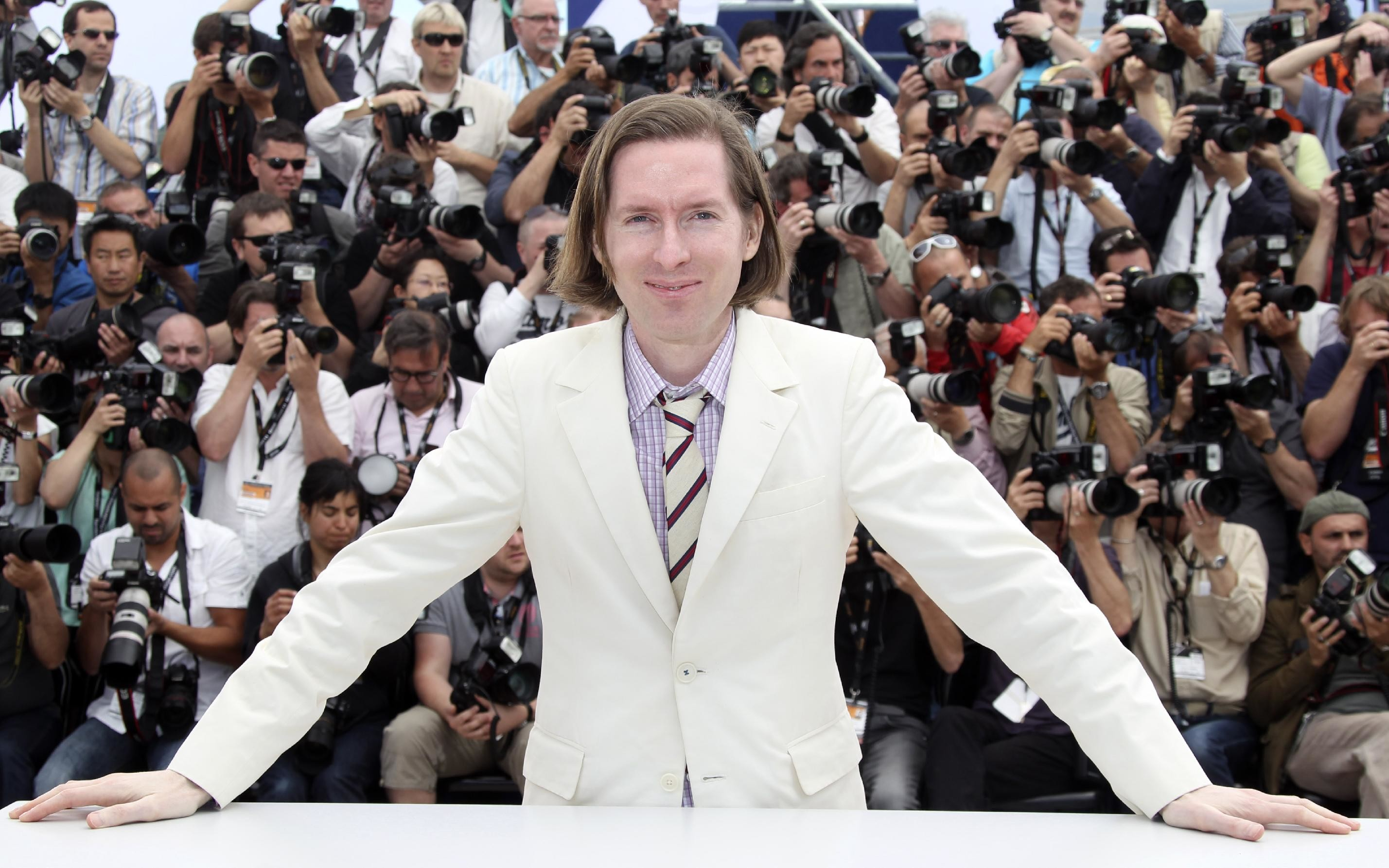 Wes Anderson Wallpaper press conference
