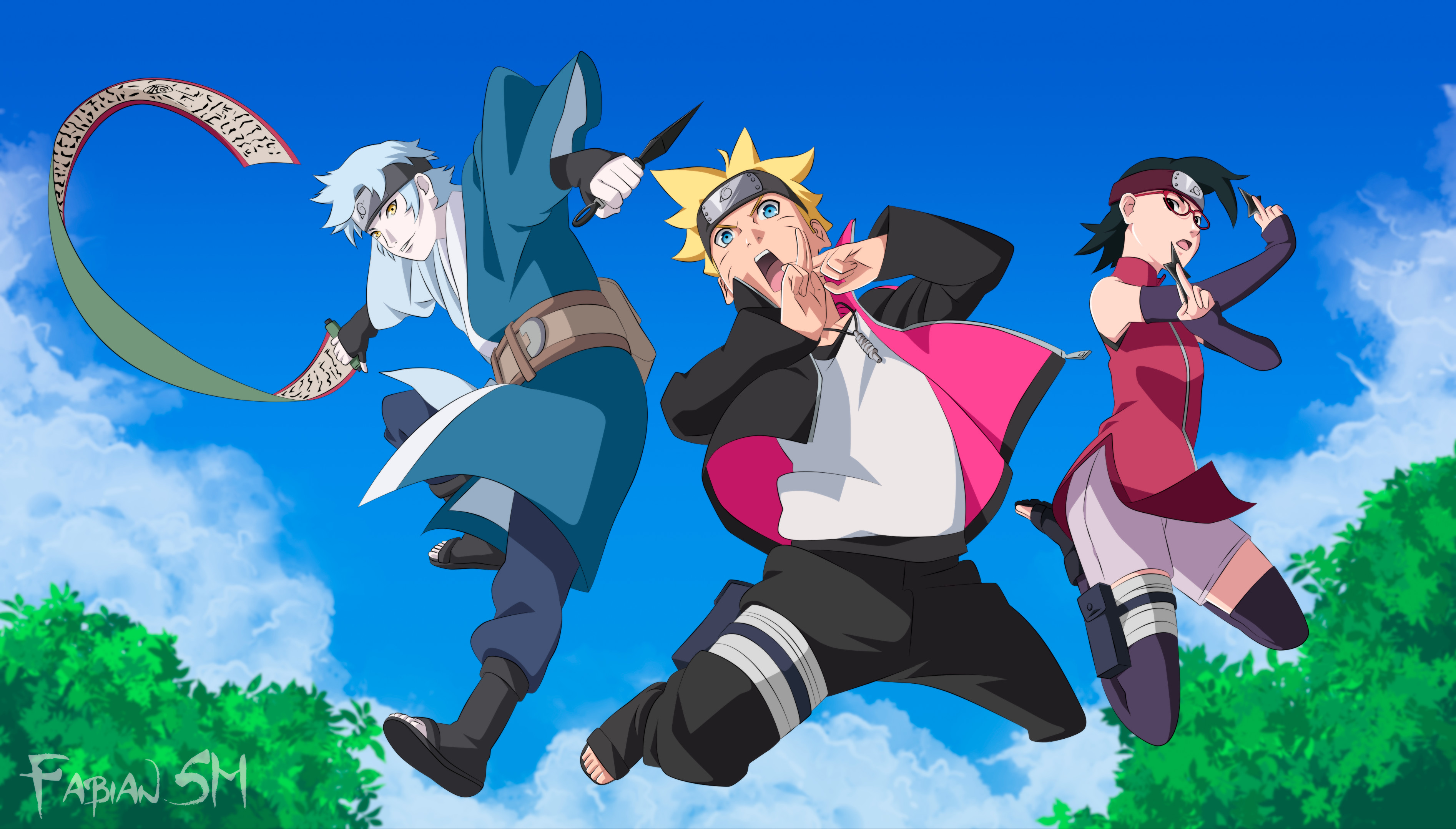 HD Wallpaper | Background ID:737895. Anime Boruto