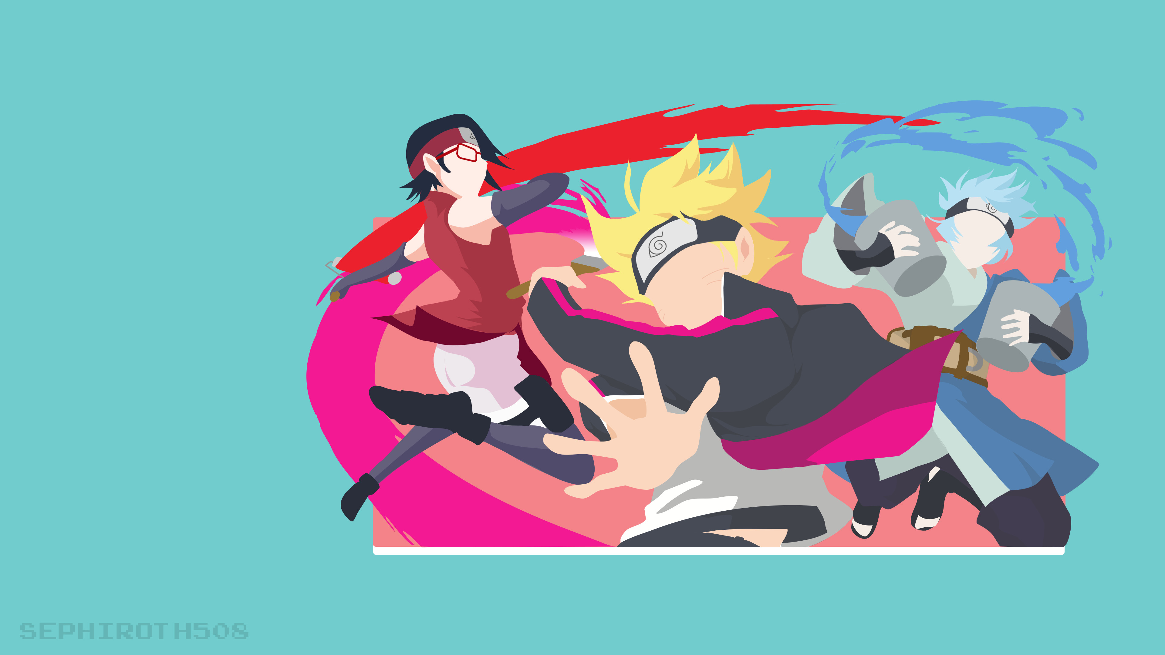 ArtBoruto: Naruto Next Generations | Minimalist Wallpaper …