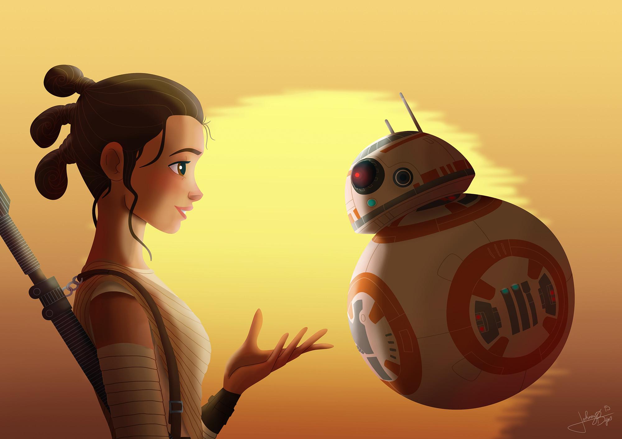 Movie – Star Wars Episode VII: The Force Awakens BB-8 Rey (Star