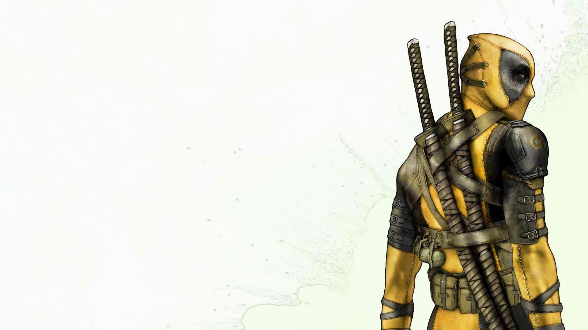 Yellow-Deadpool-HD-Wallpaper