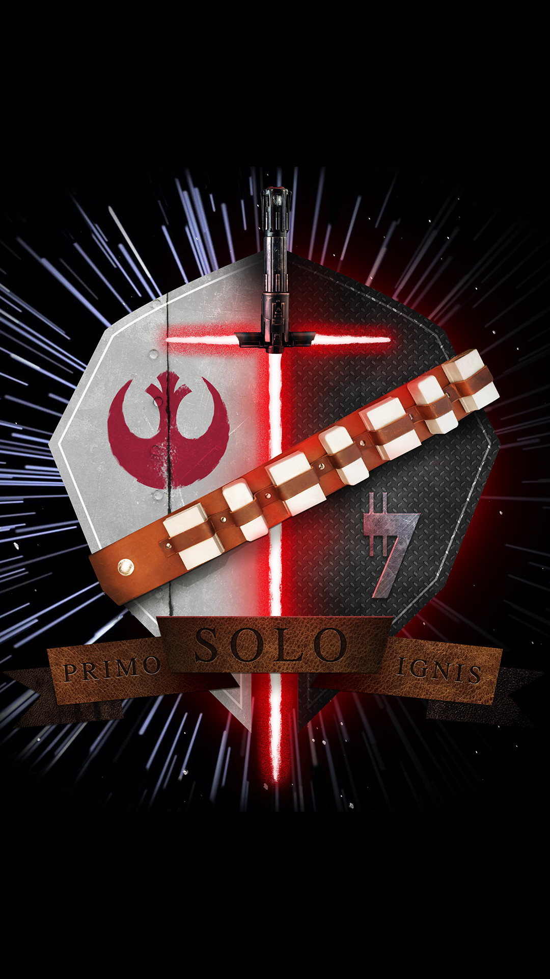 Star Wars Family Crest Han Solo Primo Solo Ignis iPhone 6+ HD Wallpaper …